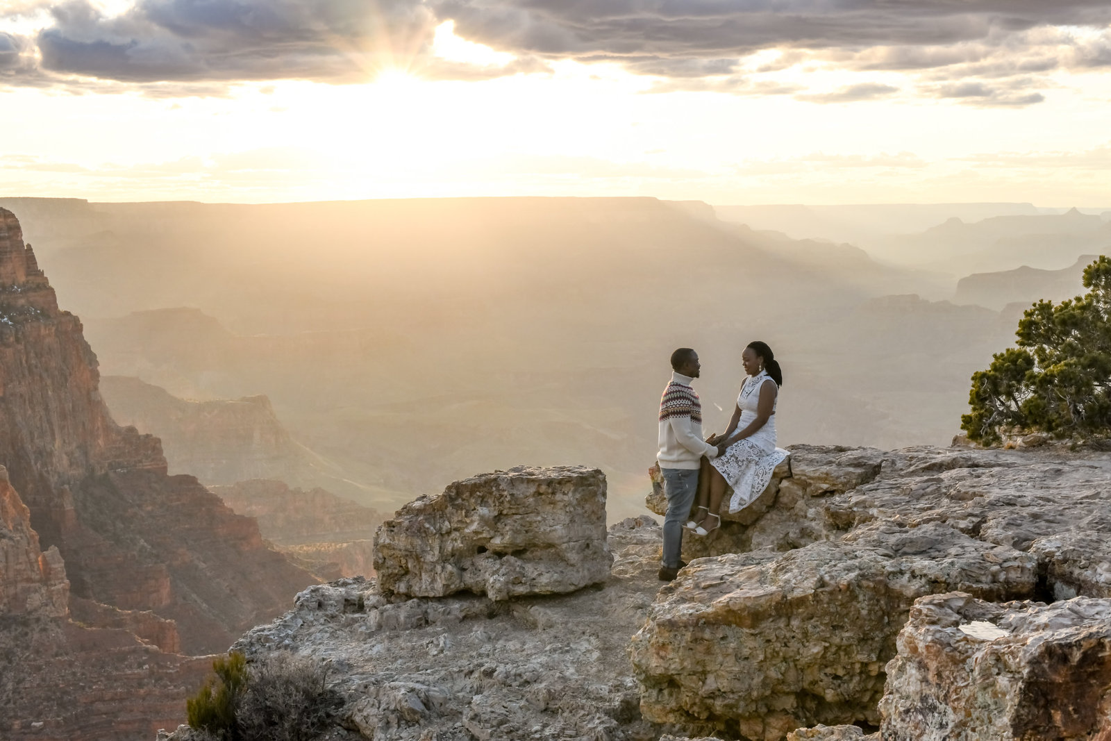 3.23.19 MR Engagement Photos at Grand Canyon photography by Terri Attridge-99