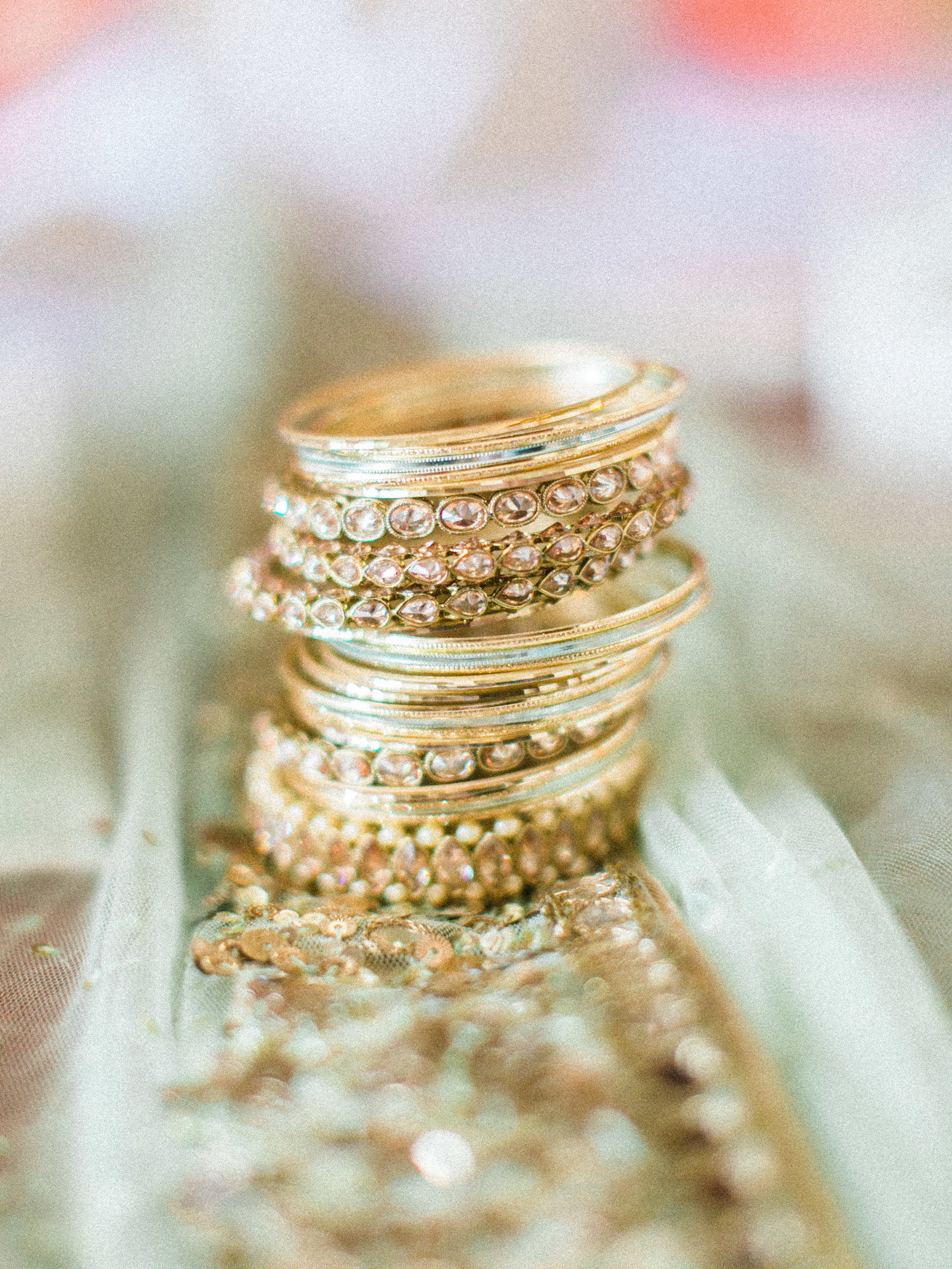 Christa O'Brien Photography Georgia Wedding photographer fine art film  atlanta nyc american indian wedding bangles bracelets