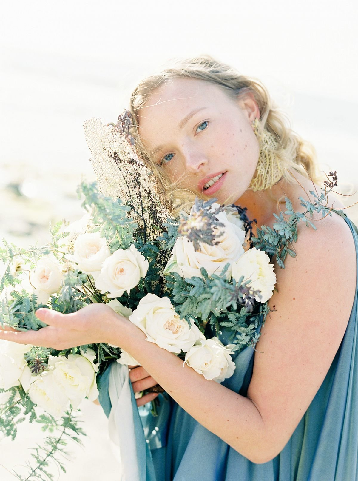 Coastal Beach Wedding Inspiration- Ashley Rae Photography Arizona and California Film Photographer12