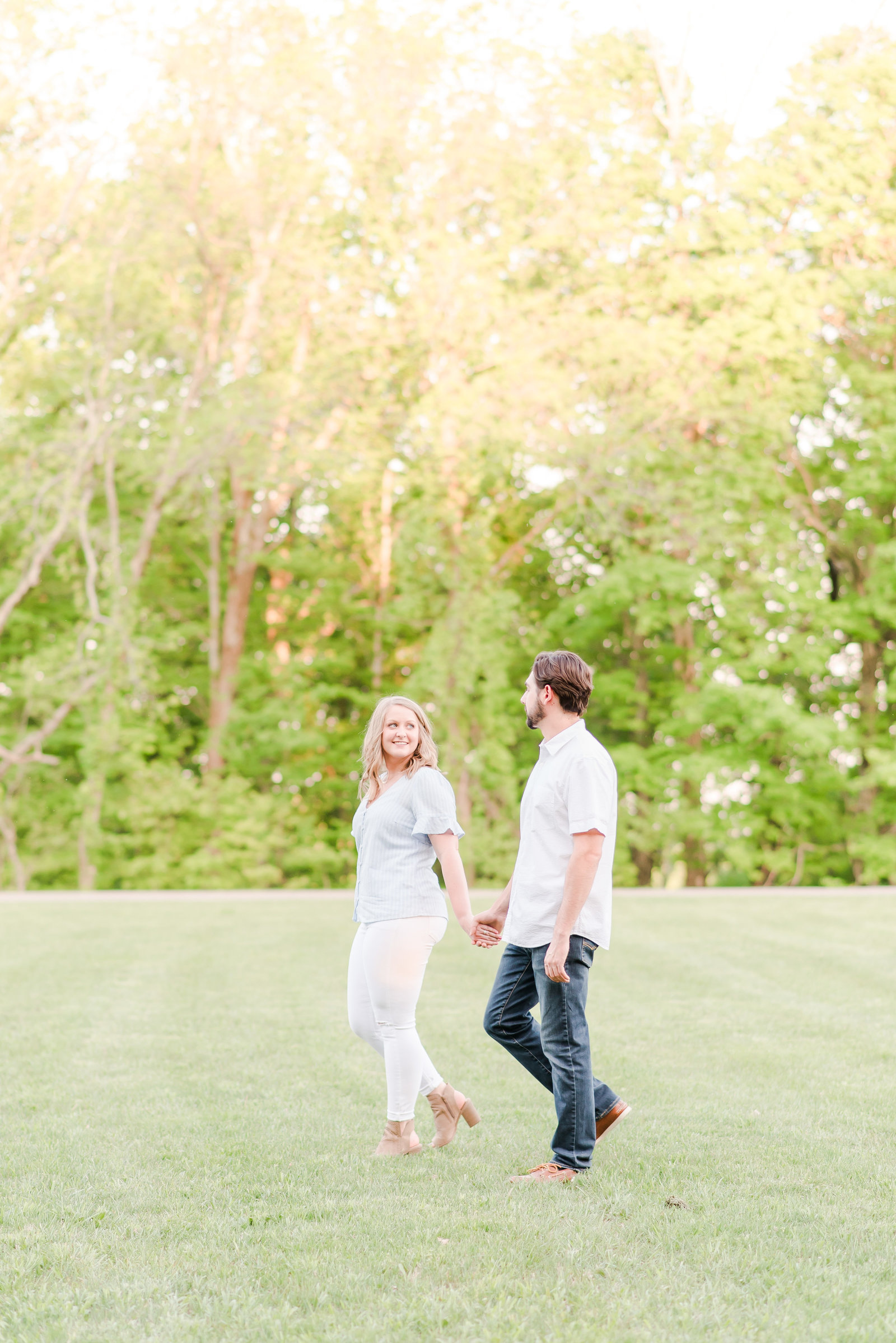 Engagement Session at Brown County