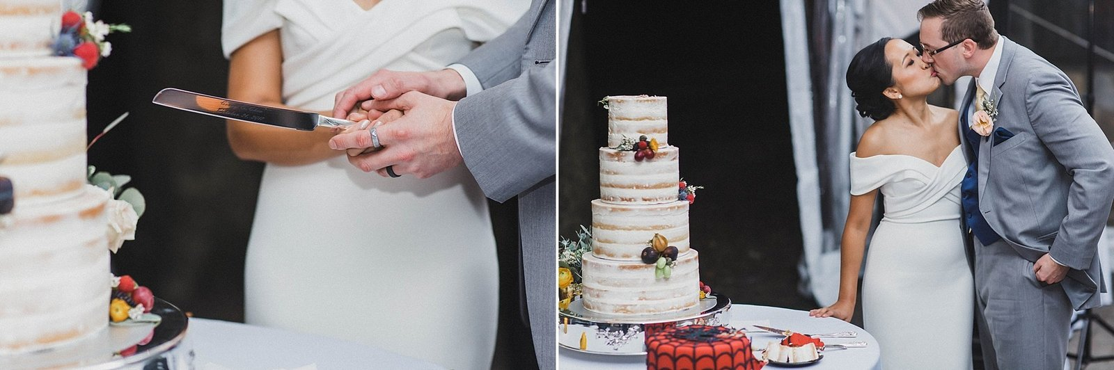 M Harris Studios_Braehead Manor_VA Wedding Photographer_cutting tieredwedding cake