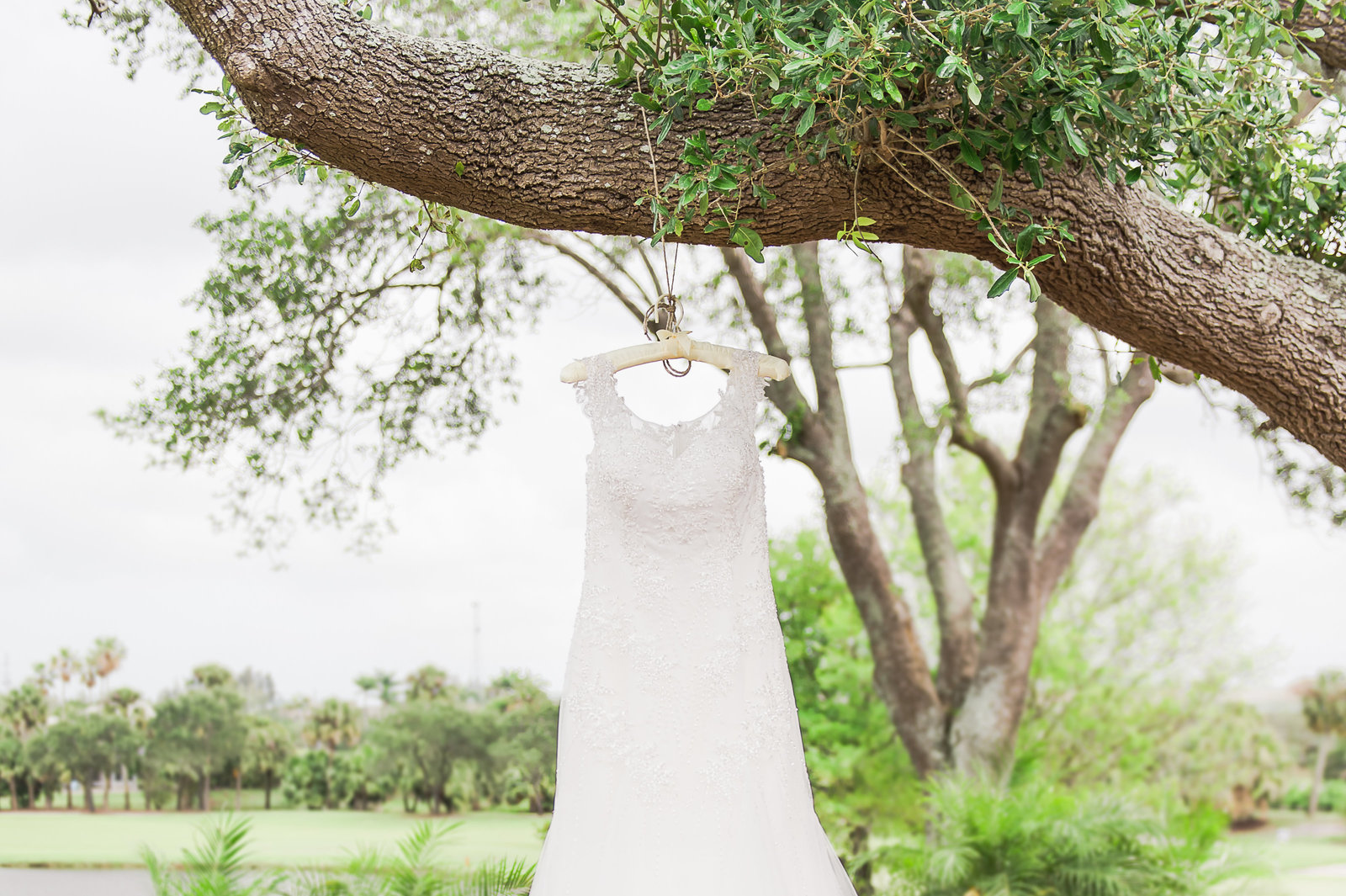 Rustic Wedding Gown - Myacoo Country Club Wedding - Palm Beach Wedding Photography by Palm Beach Photography, Inc.