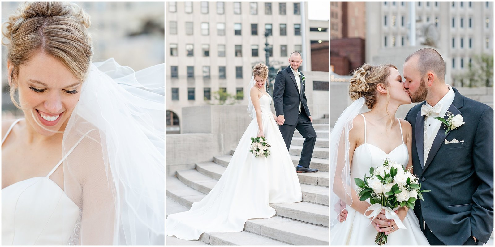Downtown Indianapolis Wedding Photography