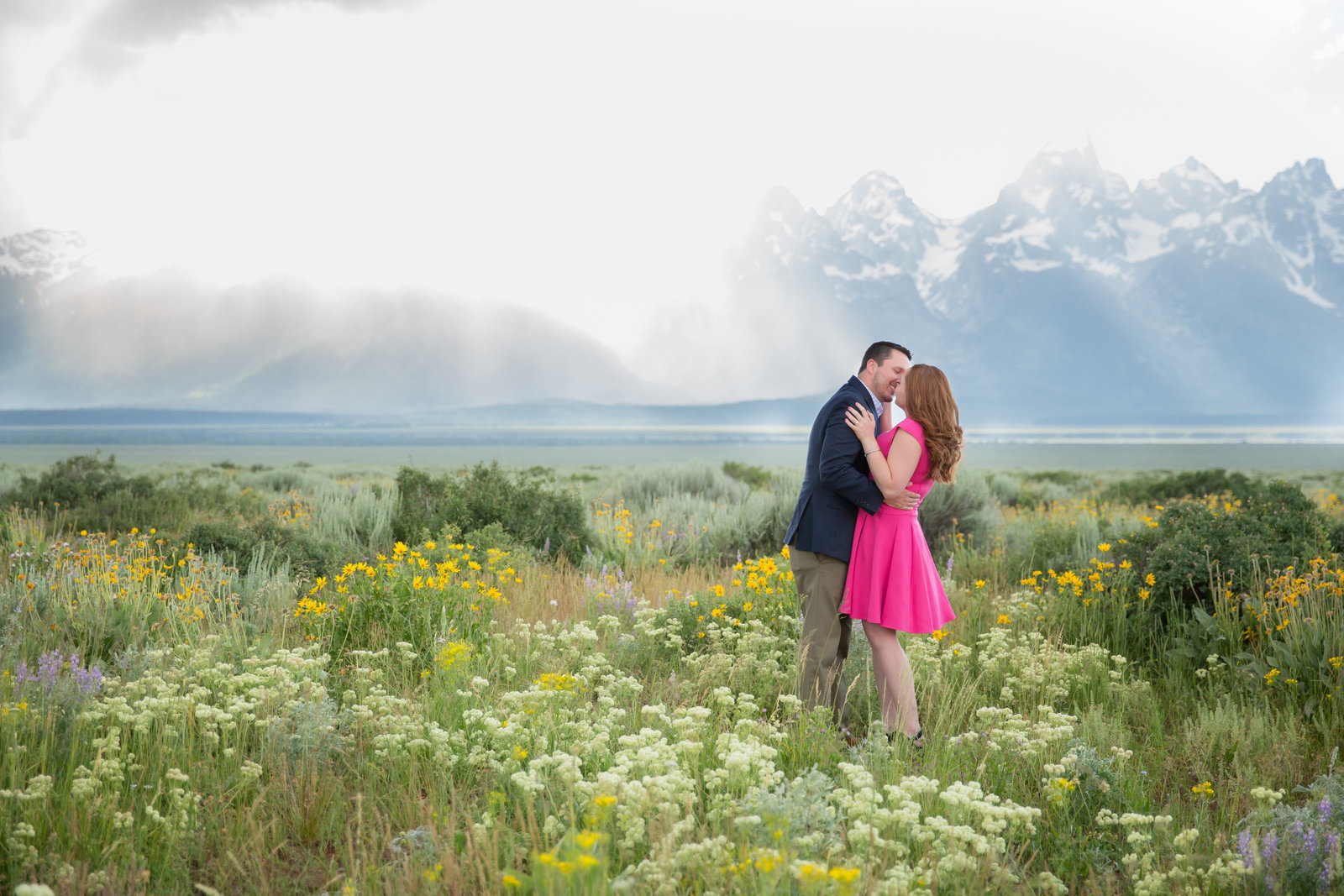 Jackson Hole WY Summer engagement session