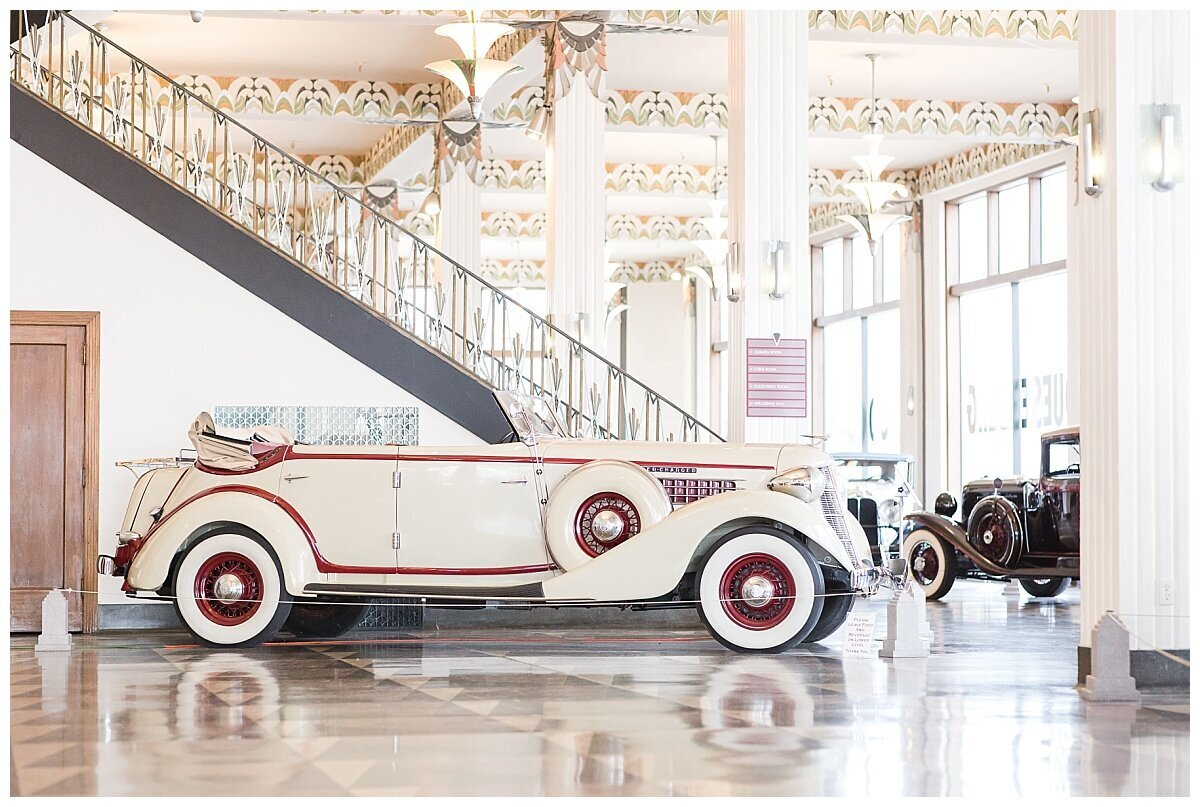 Auburn Cord Duesenberg Museum wedding photo by Simply Seeking Photography_0678