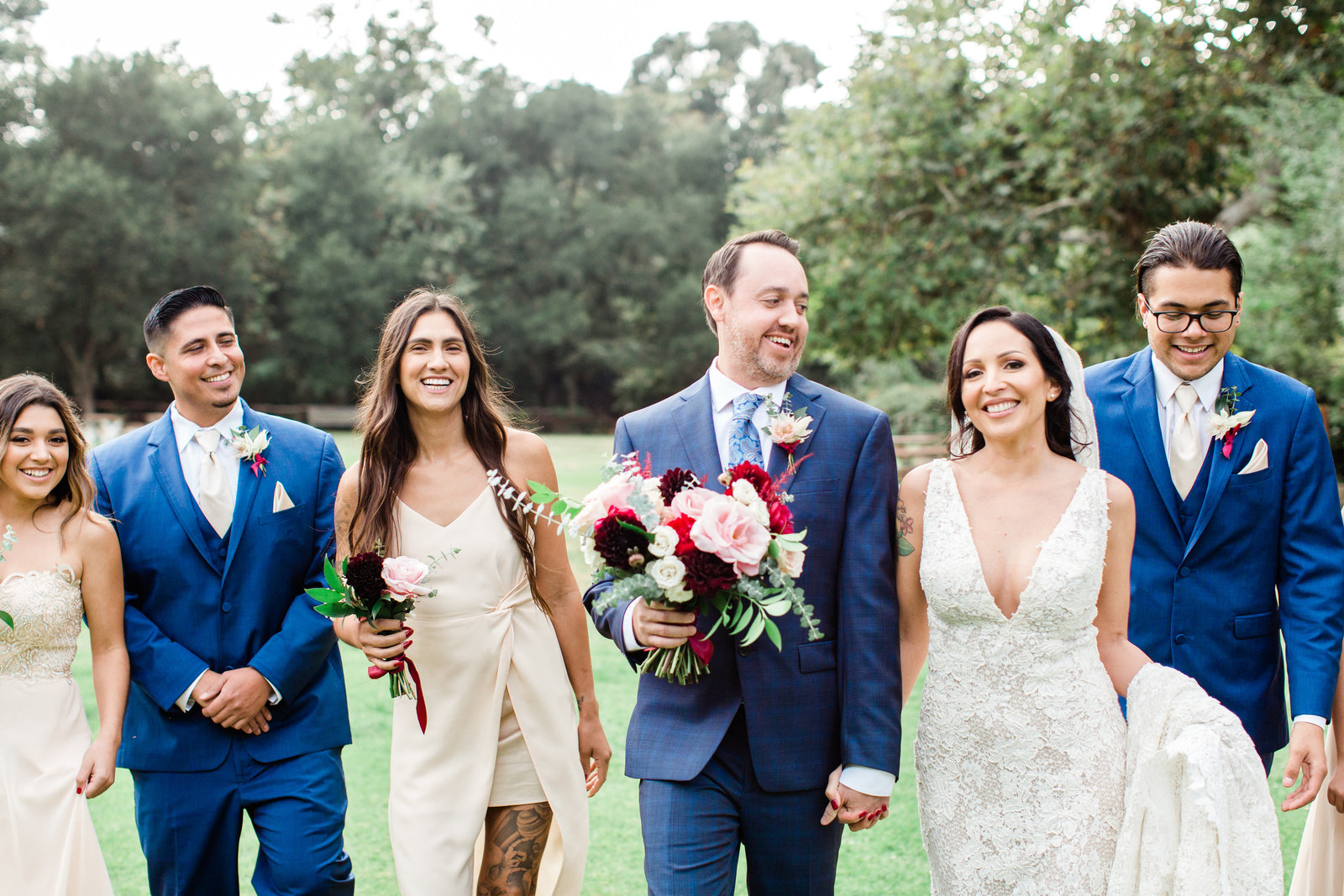 Calamigos-Ranch-Wedding-Bridal-Party