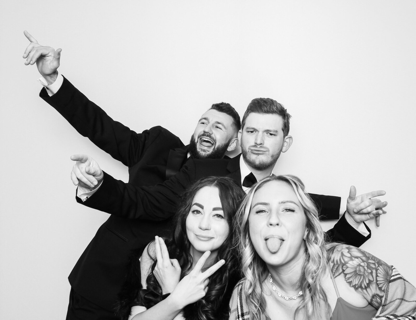 Black and white photo booth tampa-241