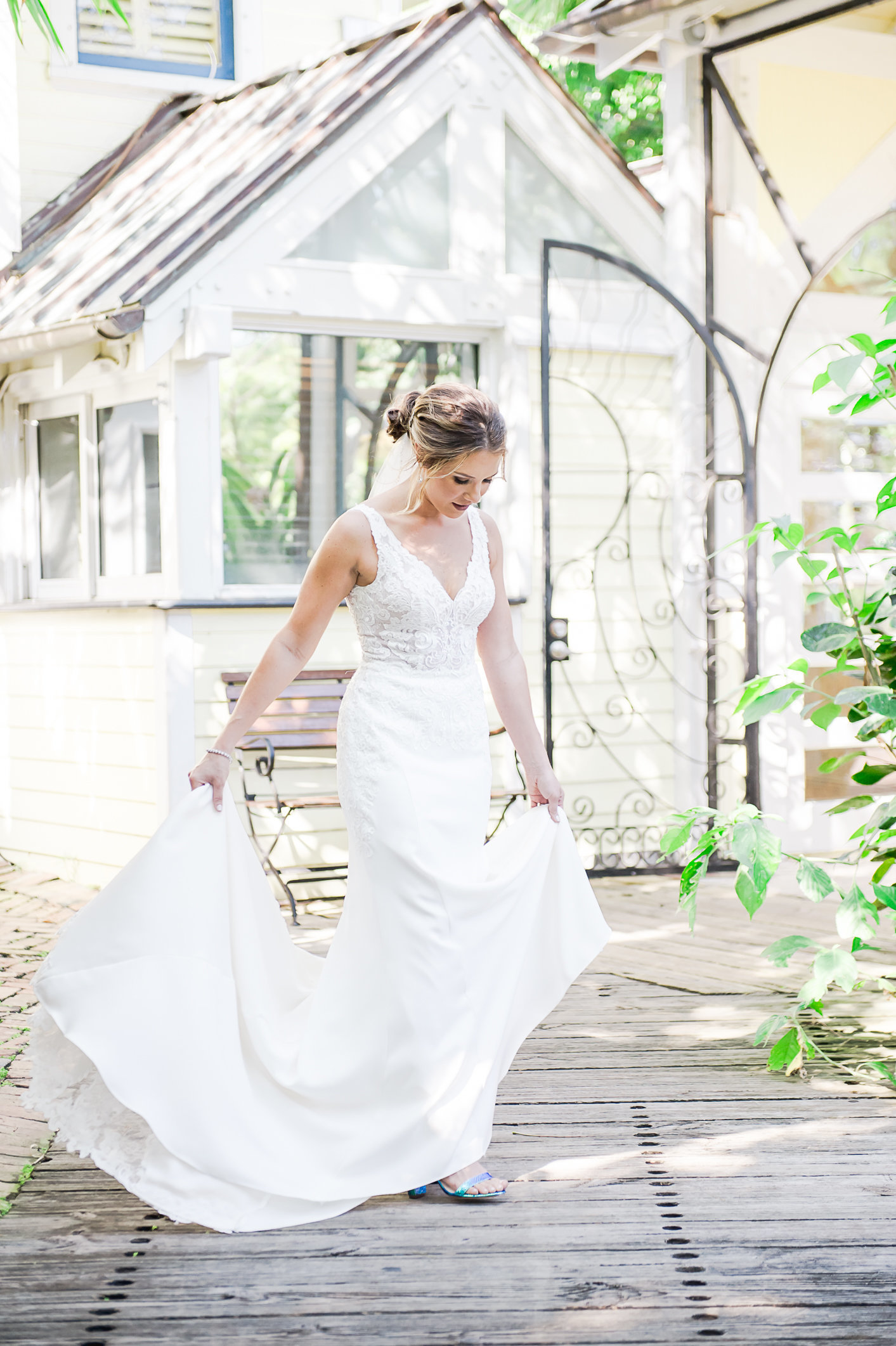 Twirling Bride - Sundy House by Palm Beach Photography, Inc.