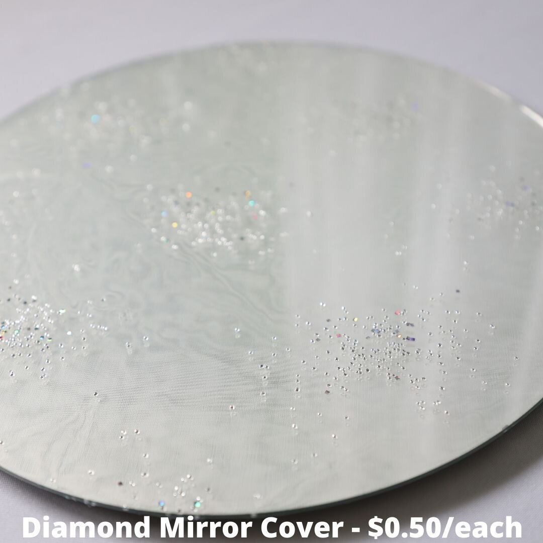 diamond mirror cover