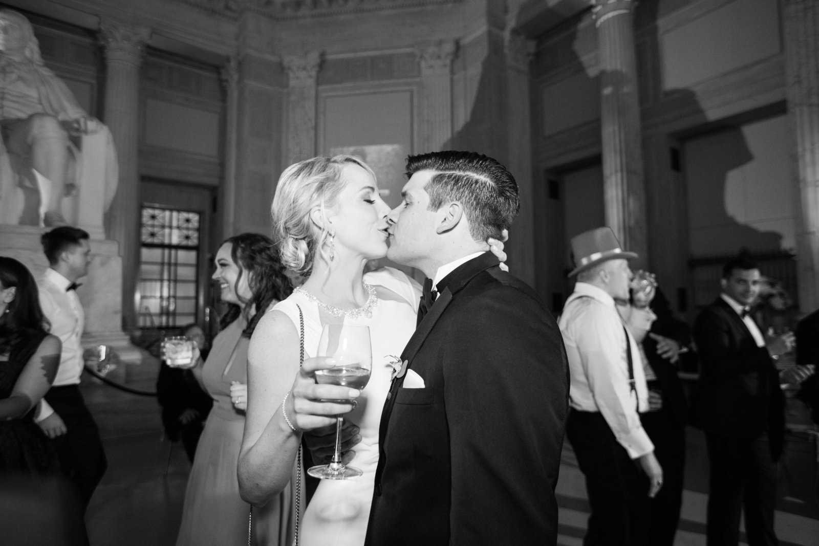 Franklin Institute Wedding Photographer Photo-56