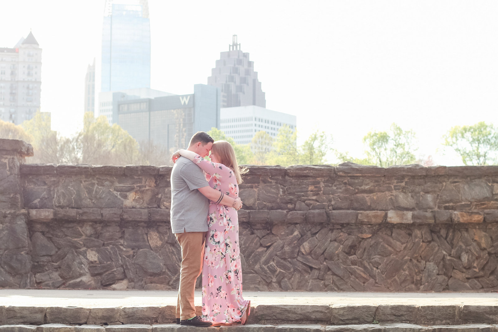 Piedmont Park Atlanta Engagement Photographer