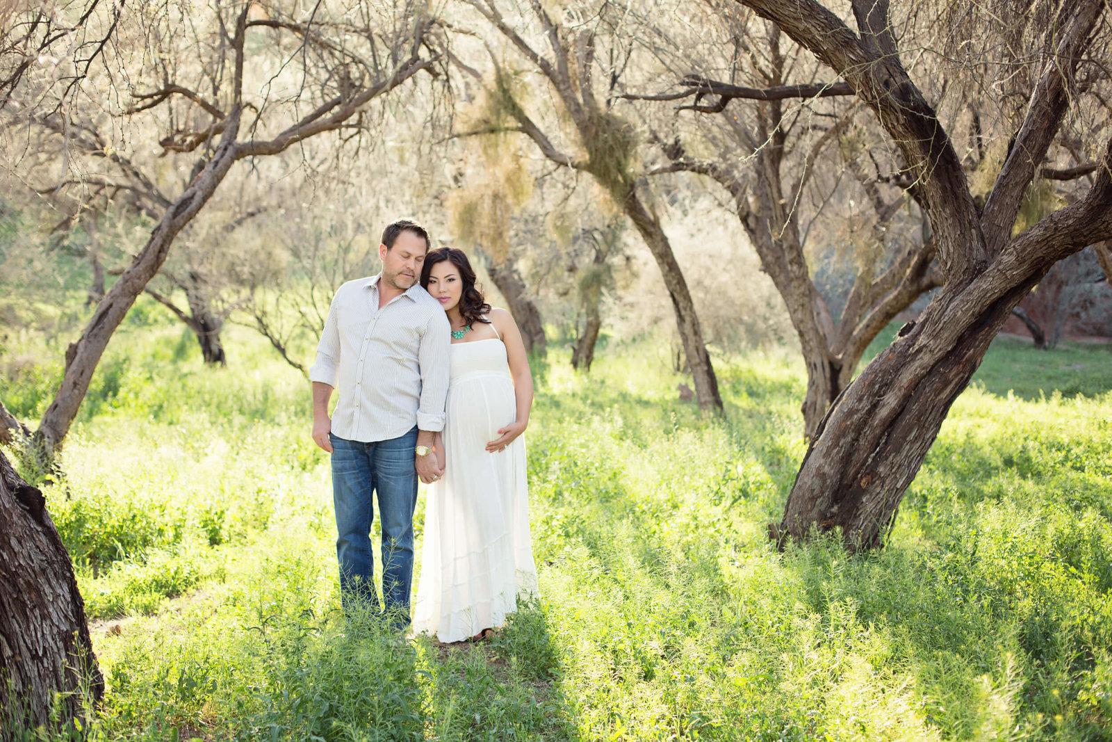 arizona spring maternity portaits