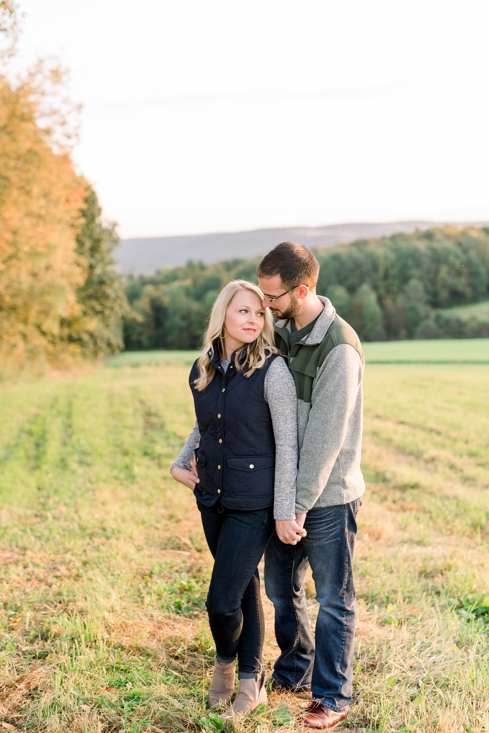 Frewsburg, WNY Engagement Session in the fall