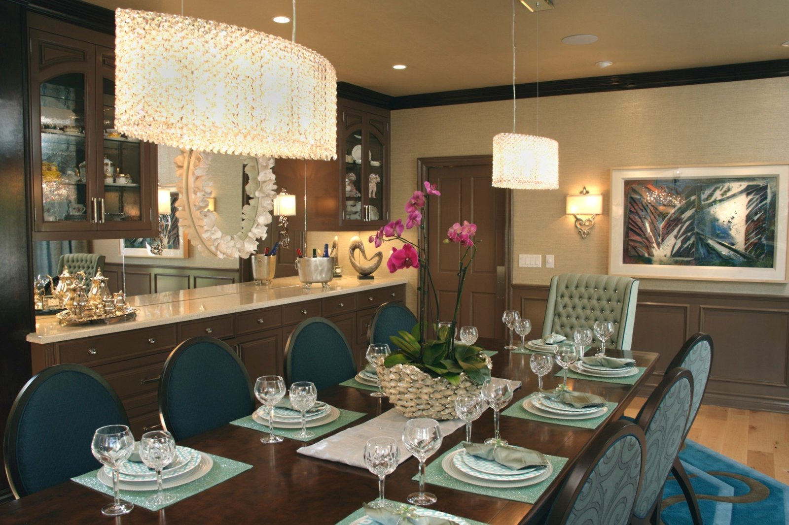 Encino Estate Dining Room
