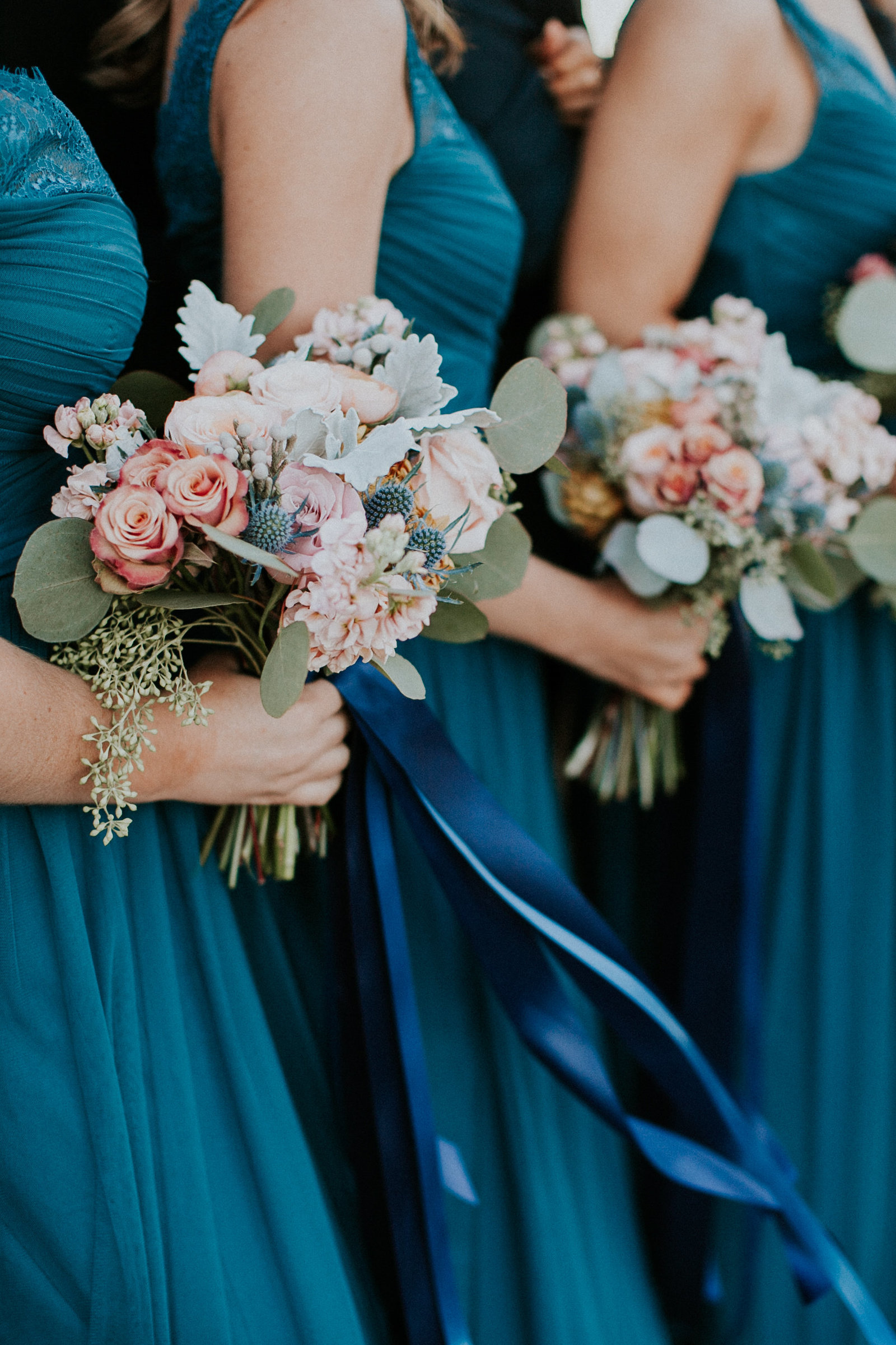 Bridal+Party+Florals+Lauren+Jones+Photography