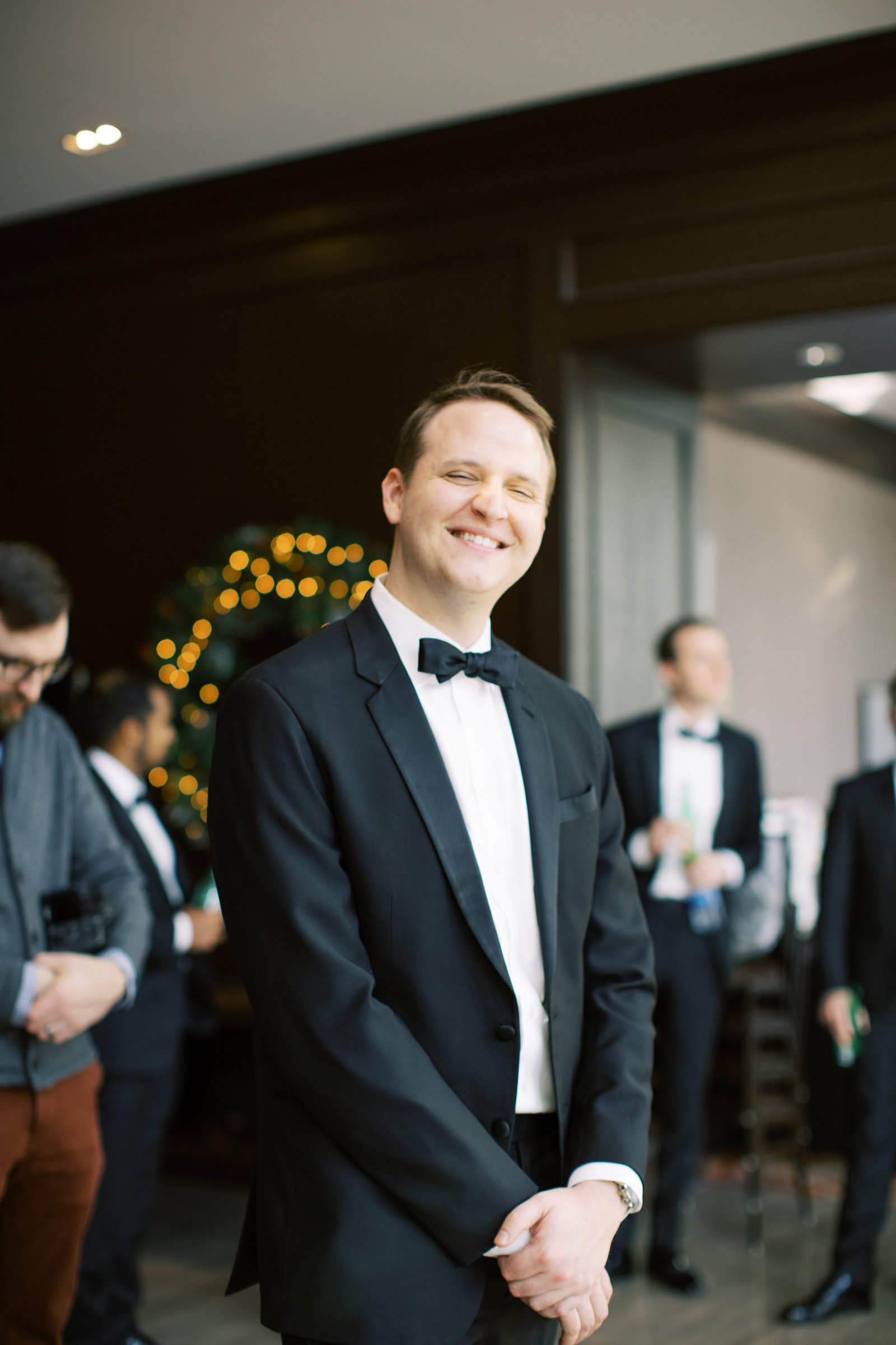 Winter wedding at the Westin in Cleveland