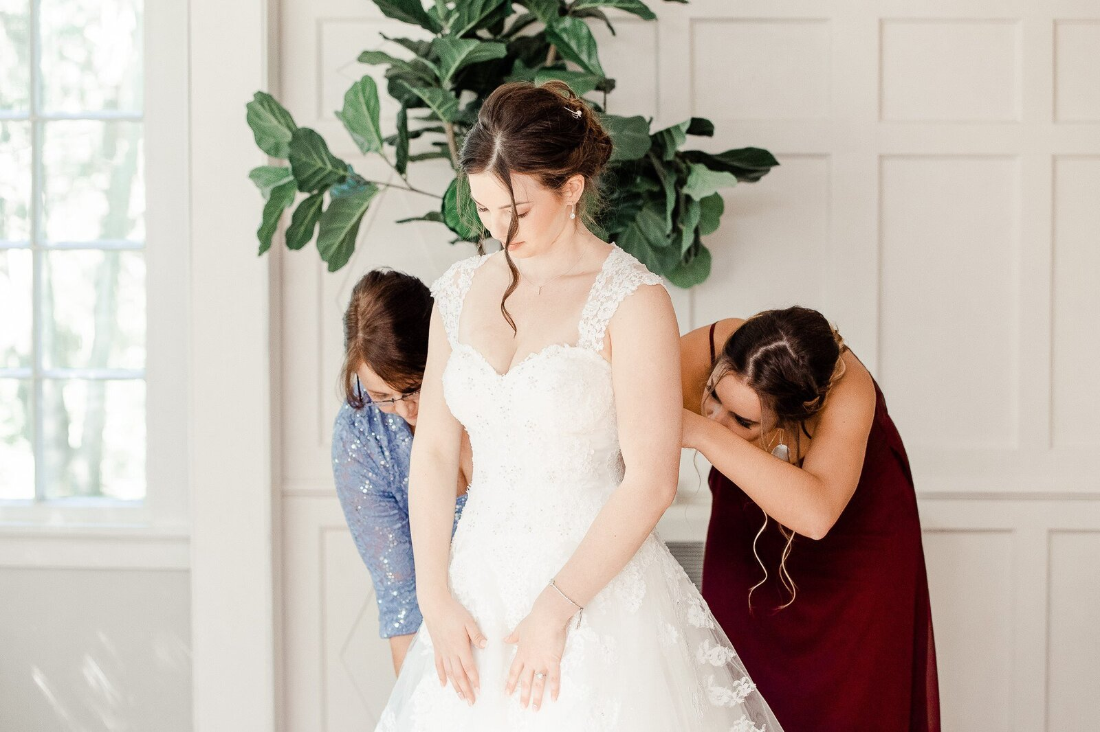 Light and Airy Keene NH Wedding -2-2