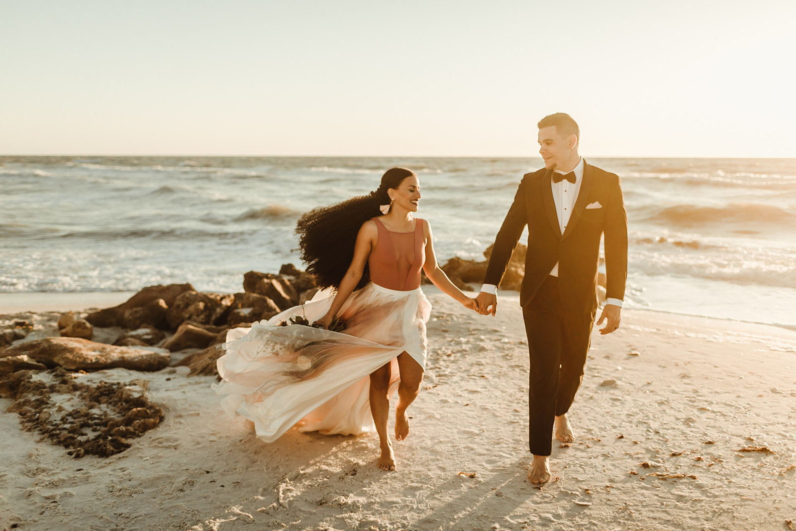 Celestial wedding inspiration_ beach elopement style-132