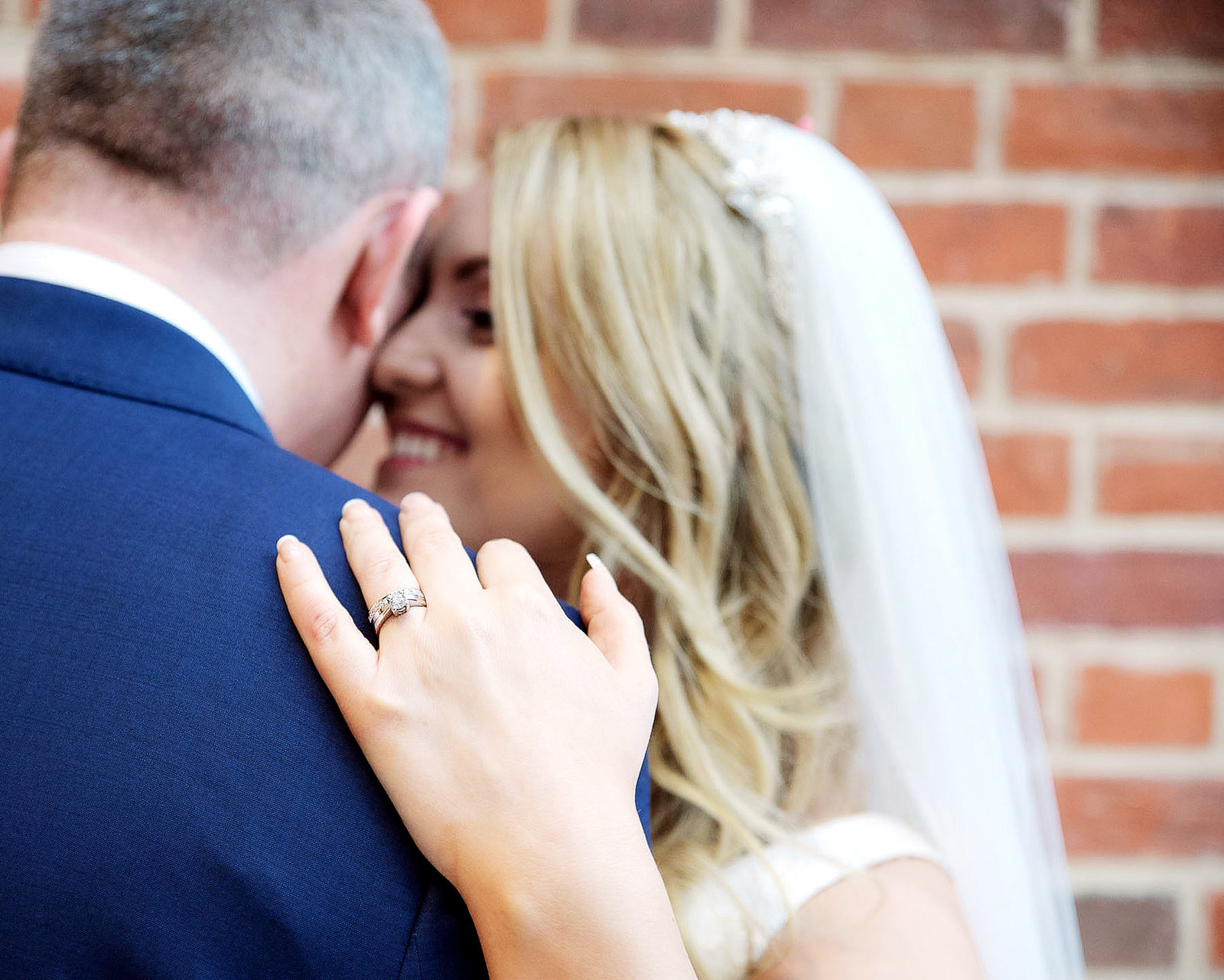 Bride and groom at greyfrairs wedding venue in colchester, Essex