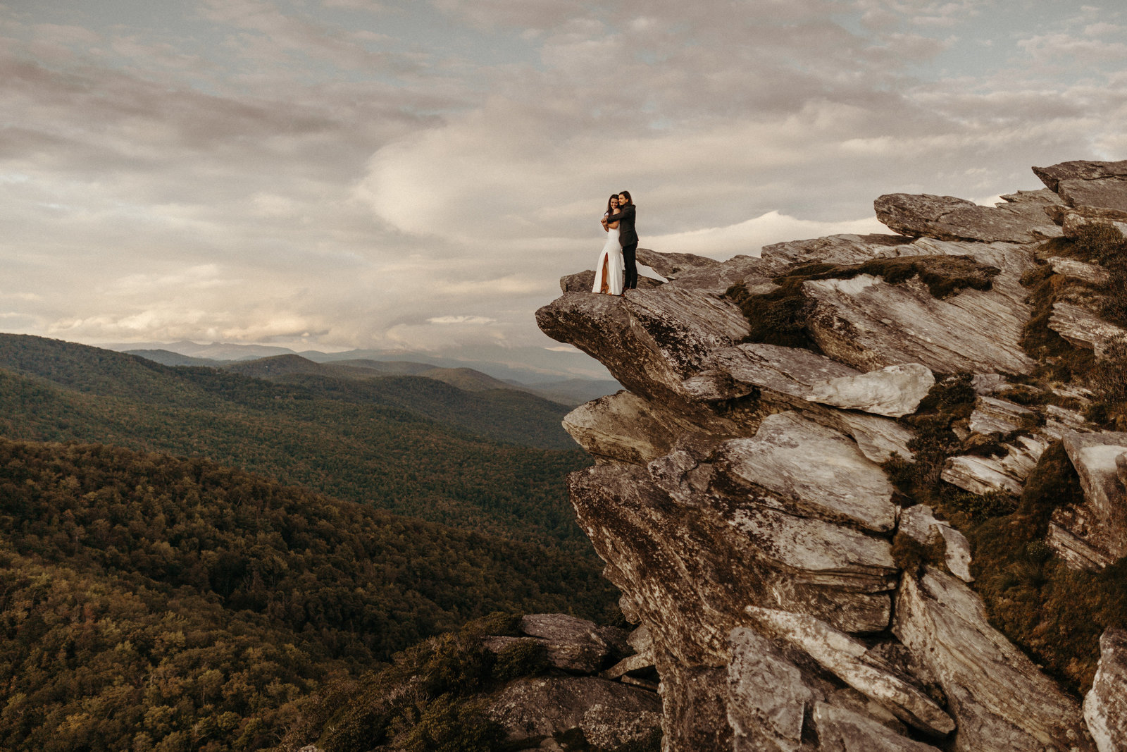 Adventurous Mountain Elopement