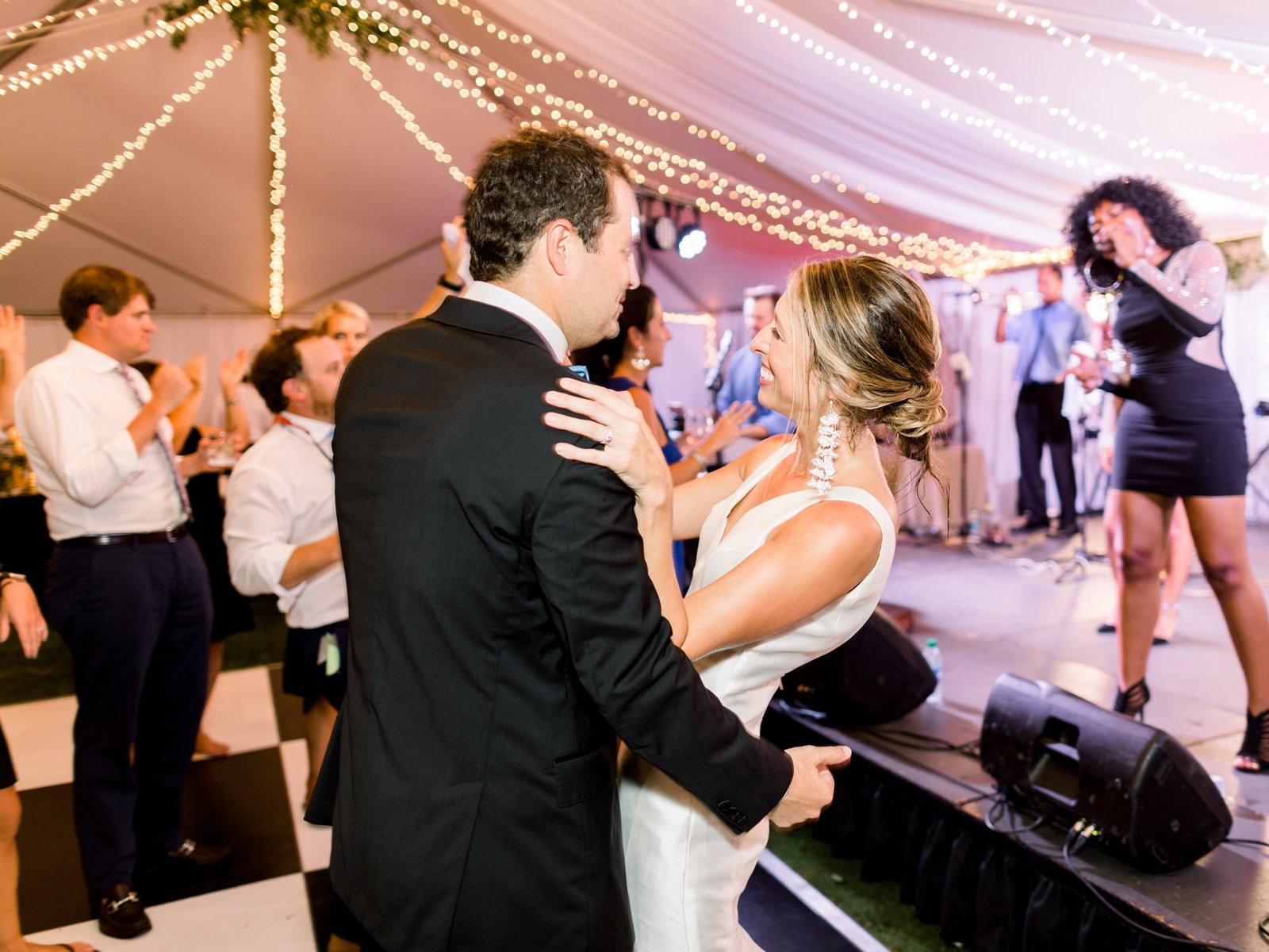 Rosemary Beach White Tent Wedding Recpetion on Western Green_0139