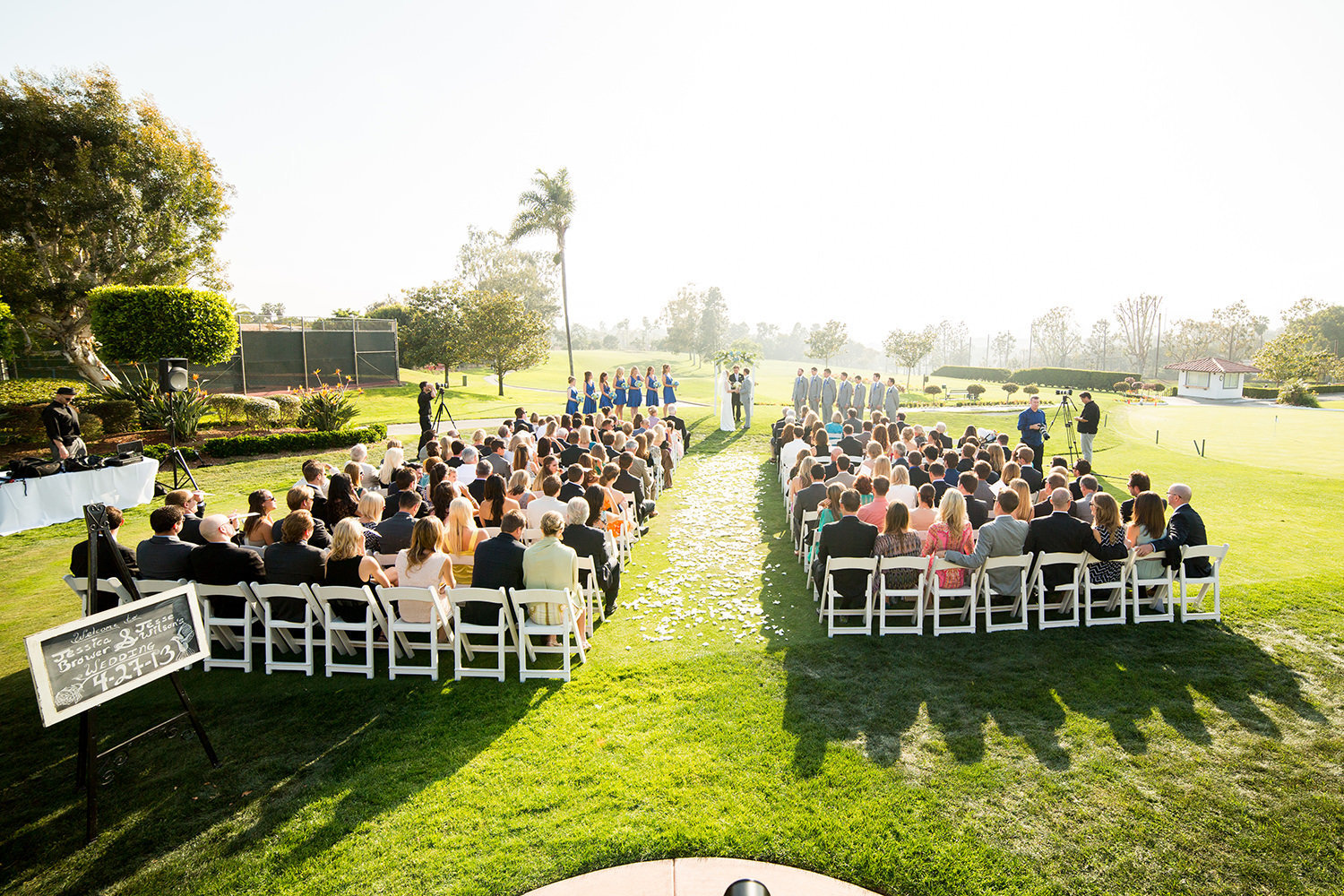 overview of ceremony space