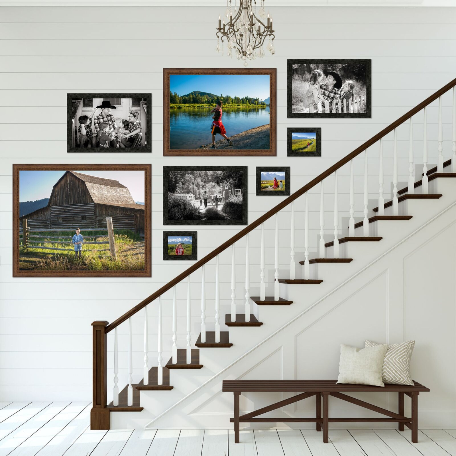 Modern Farmhouse Stairs Ship