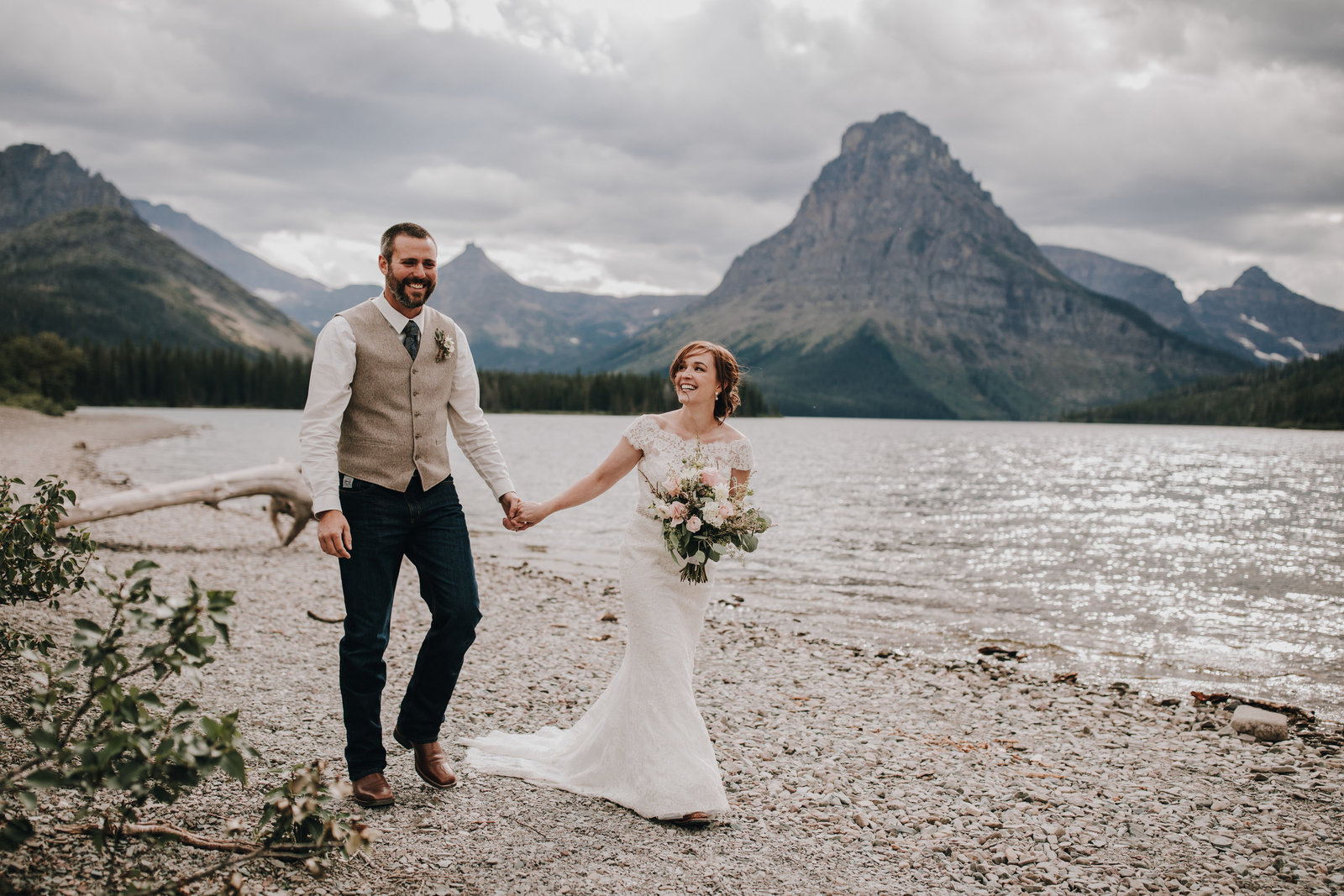 Two Medicine Lake Elopement