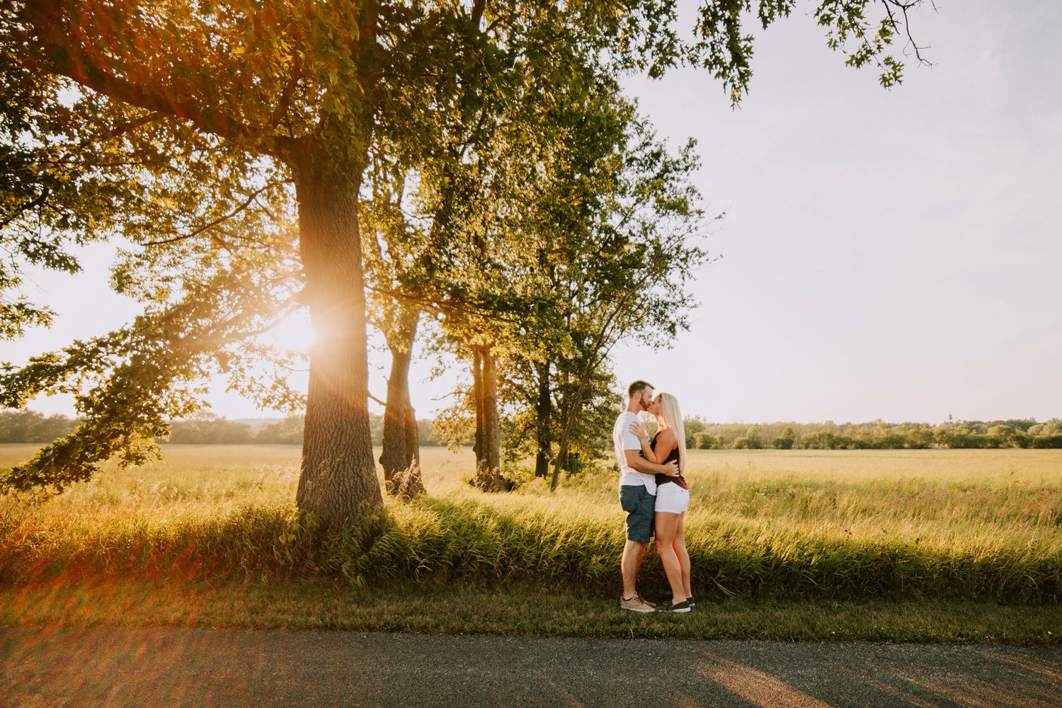 Casual-sunset-engagement-session-prophetstown-state-park-17