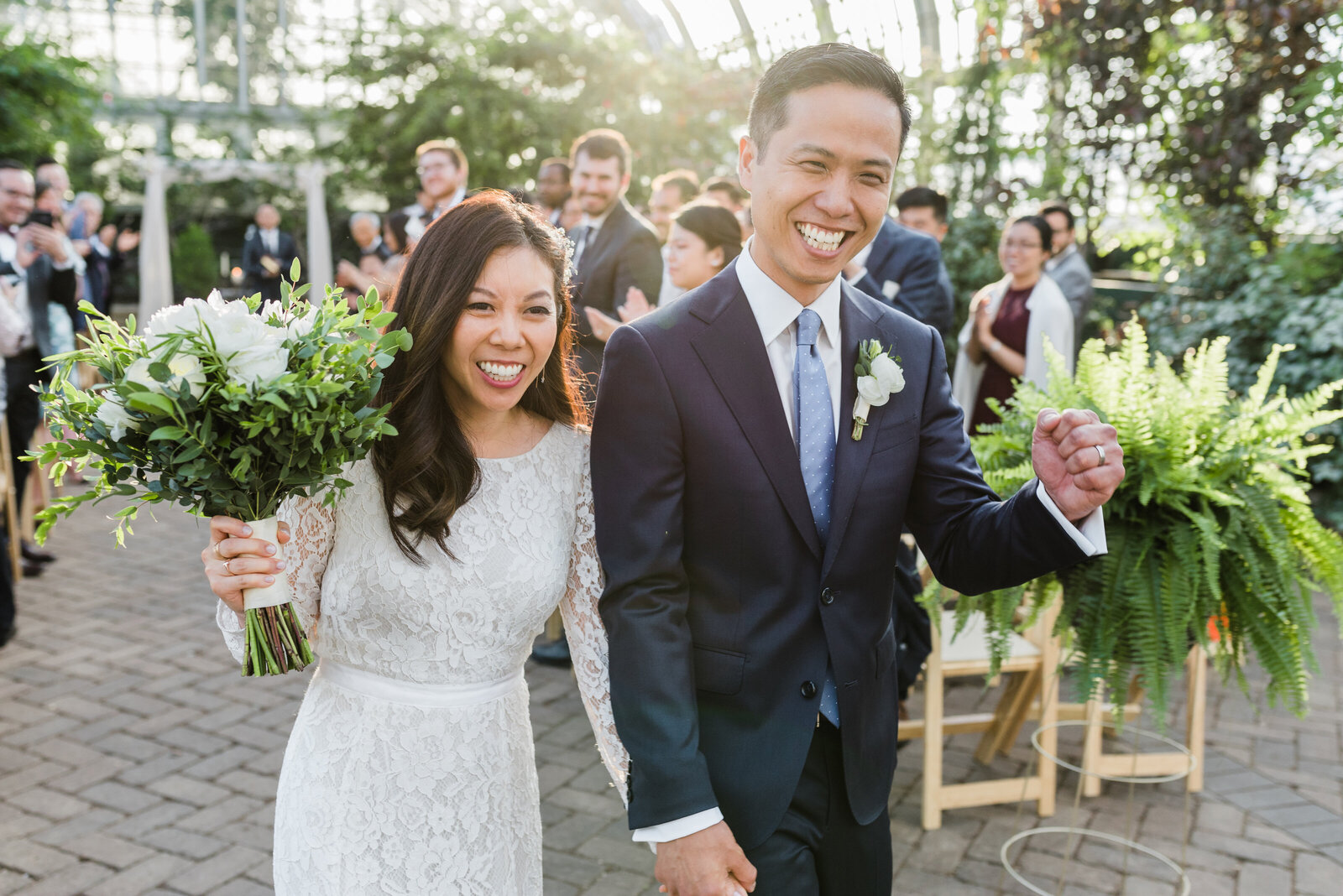 Garfield Park Conservatory Wedding _ Susie and Joe_379