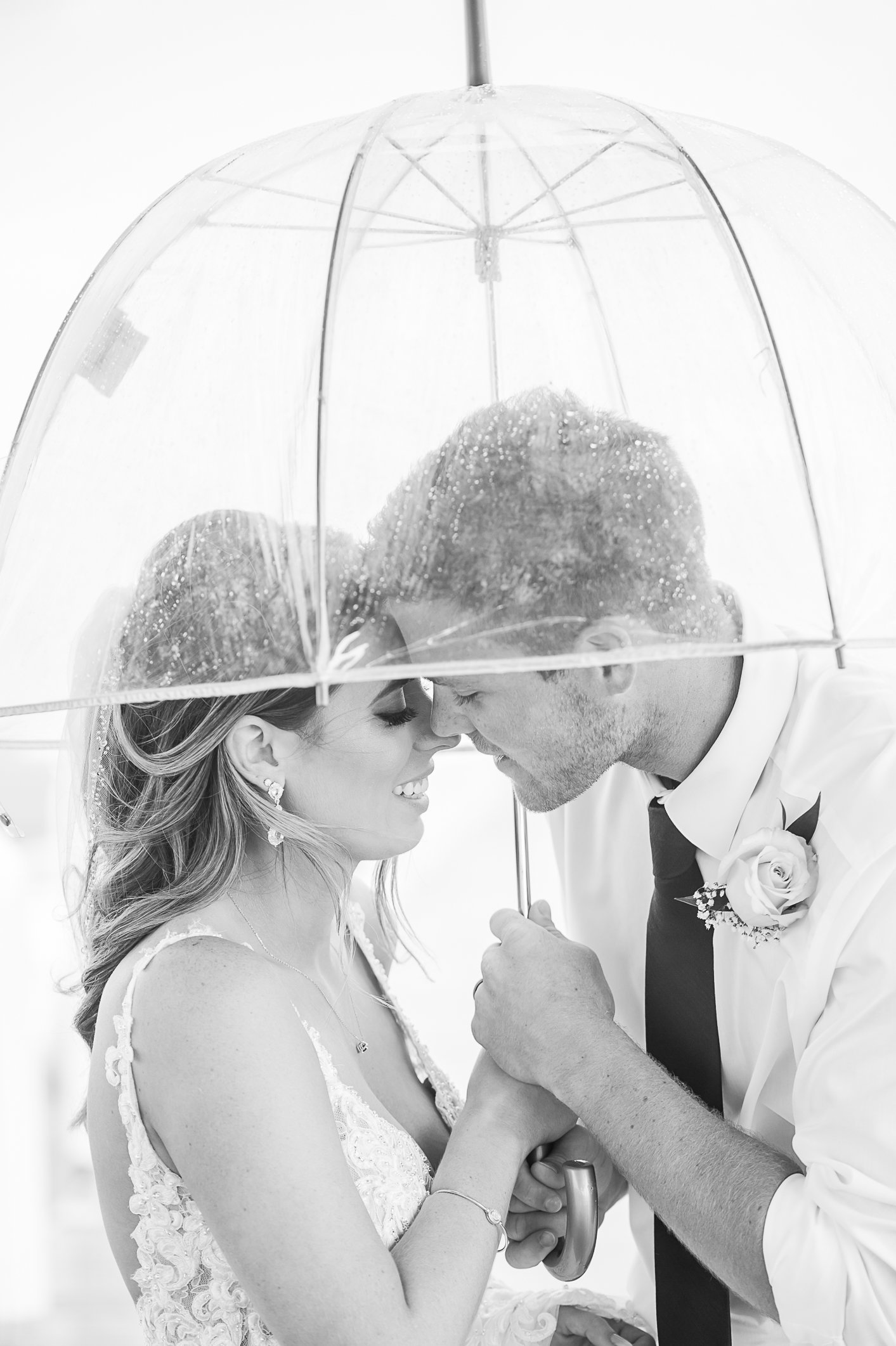 Rainy Wedding - Cheeca Wedding - Palm Beach Wedding Photography by Palm Beach Photography, Inc.