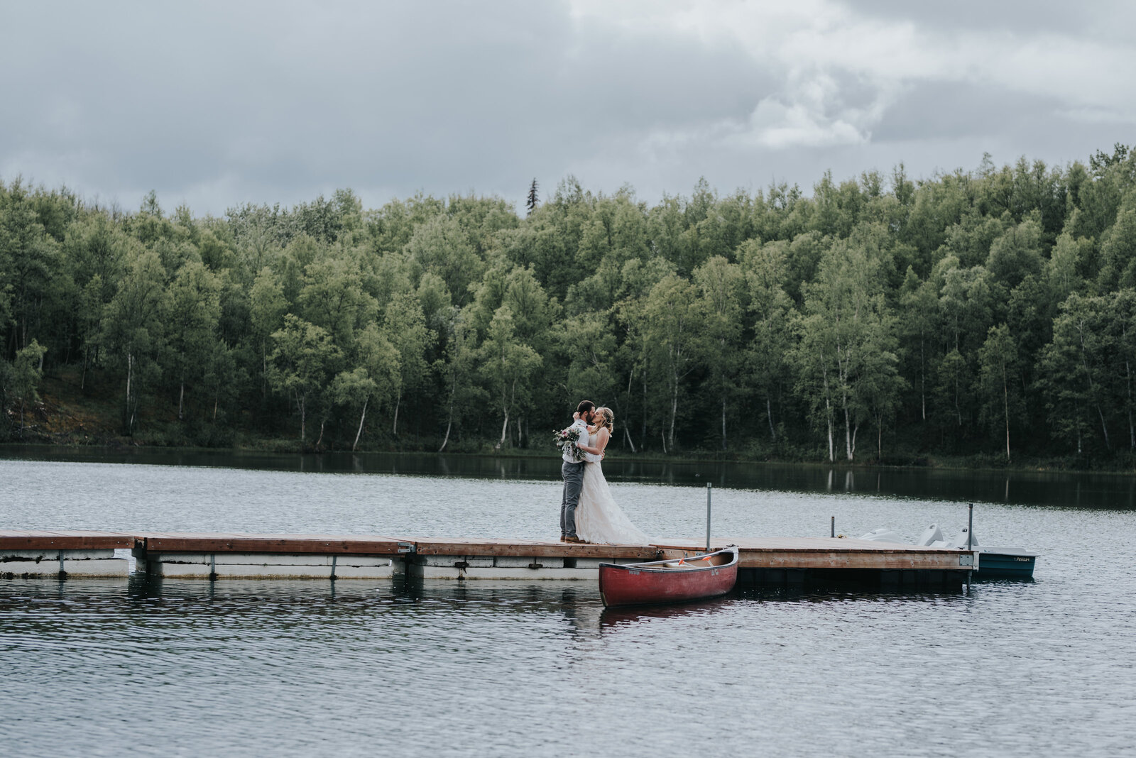 Wedding at Meier lake