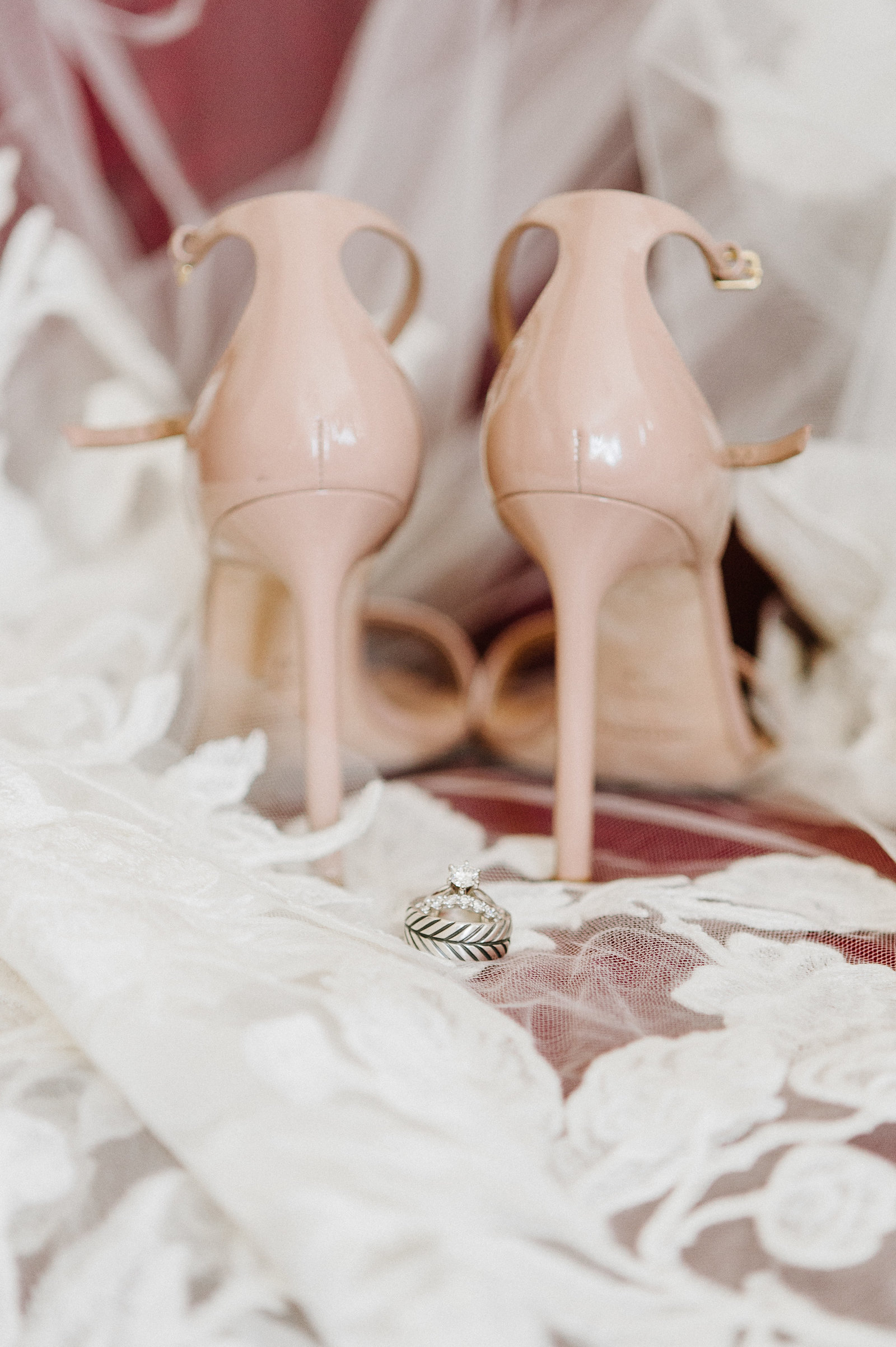 blush wedding shoes yves saint laurent