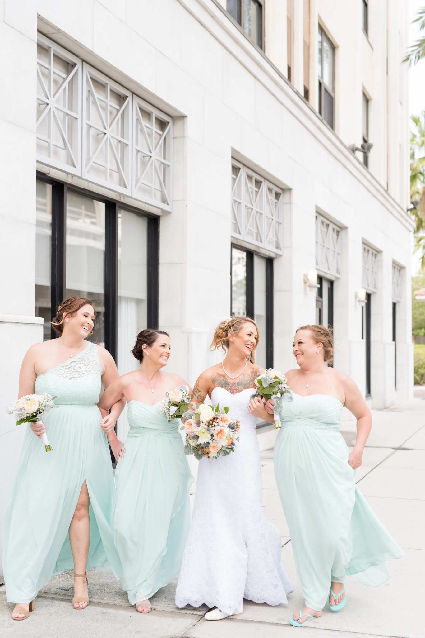 St.-Petersburg-Mint-Bridesmaids-Dresses