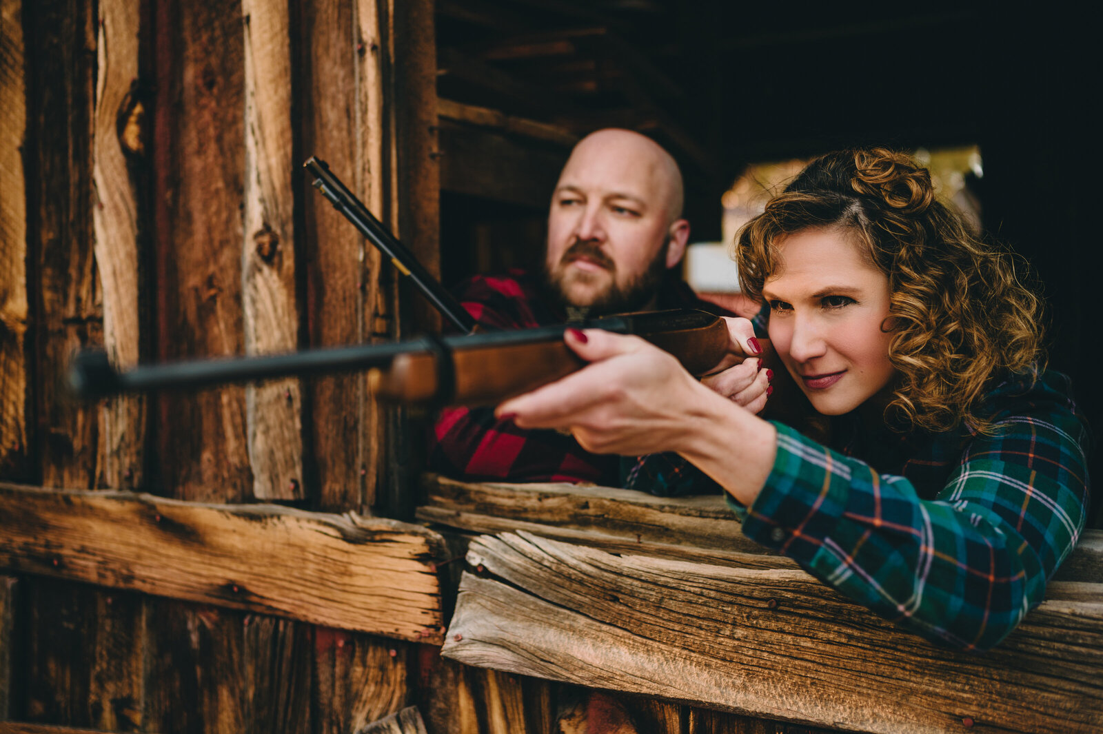 big bear engagement photography 100