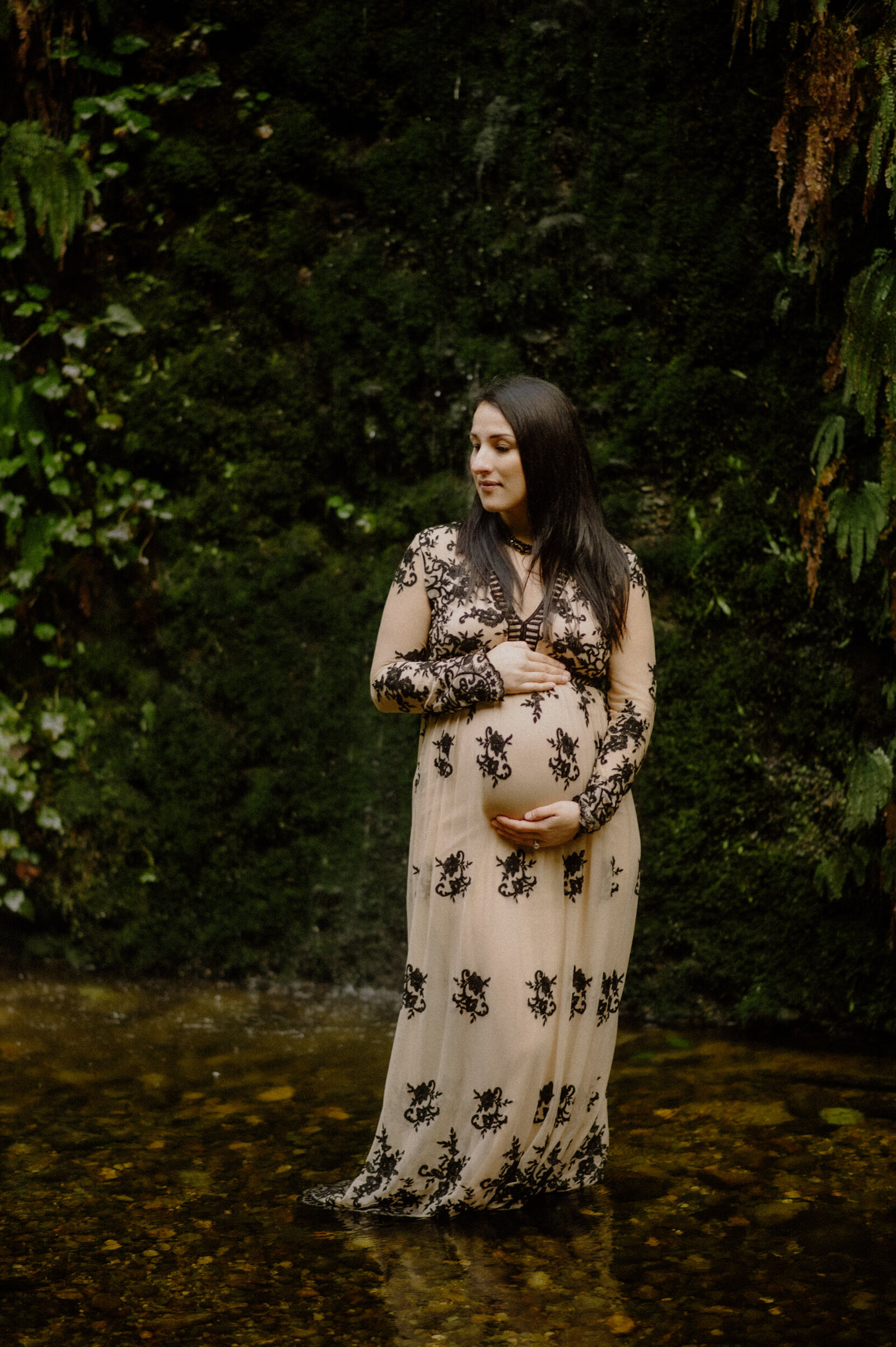 fern-canyon-maternity-waterfall-embroidered-gown-2
