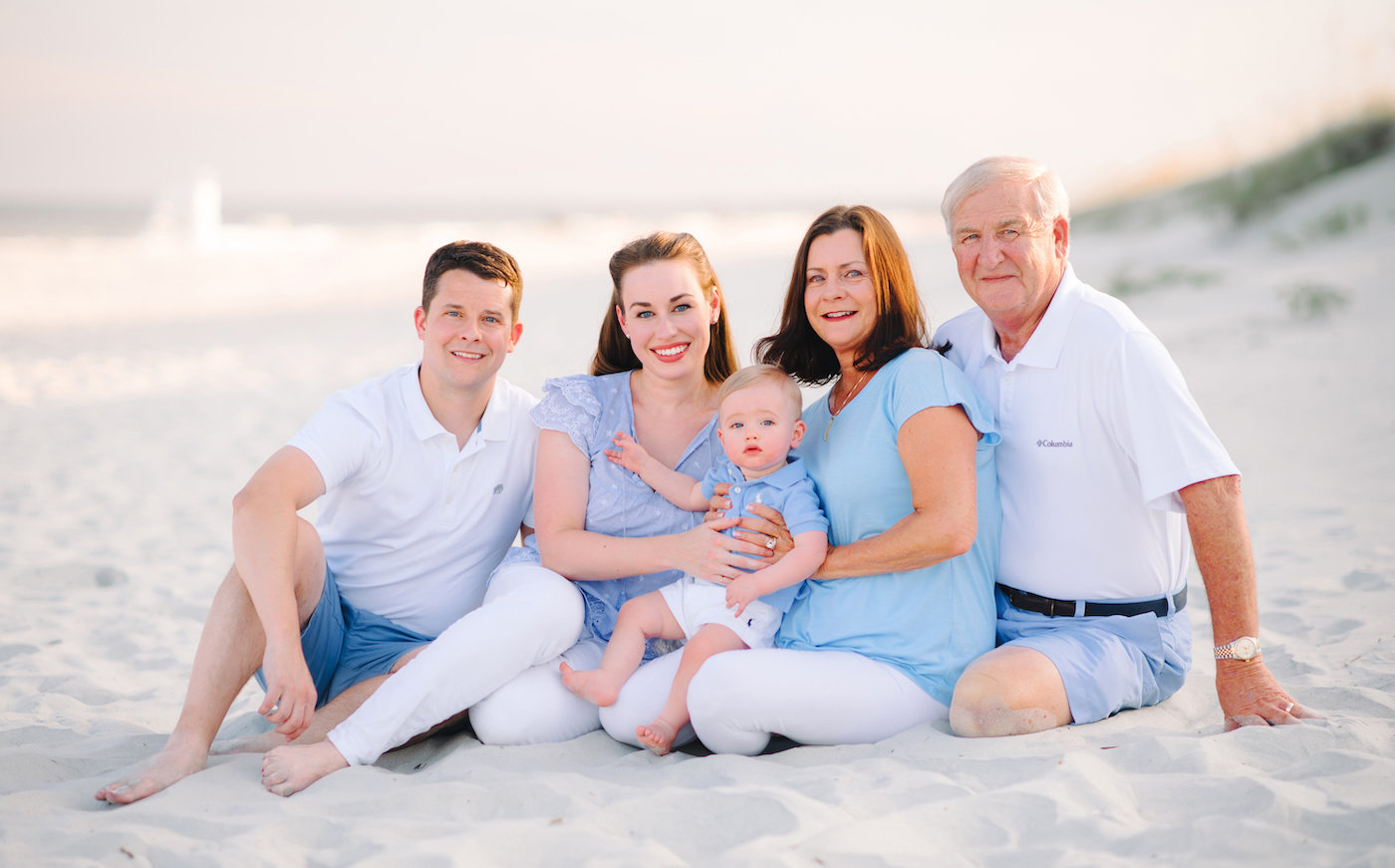 Beach Family Pictures in Myrtle Beach, SC