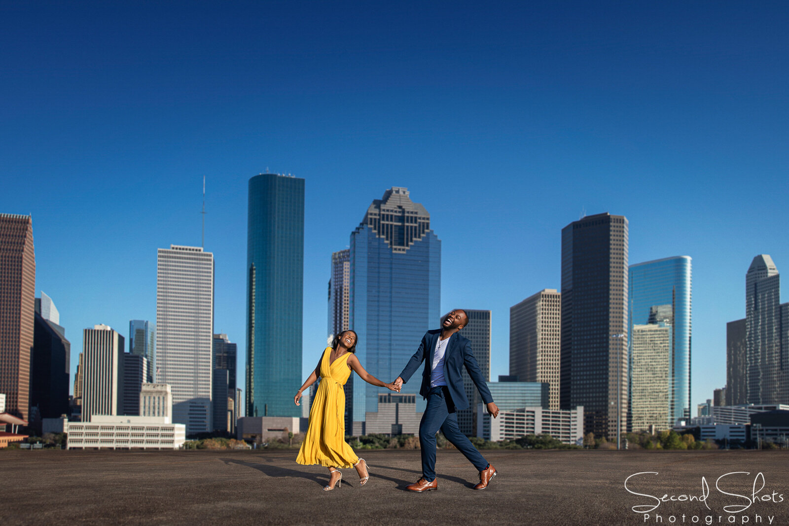 046 Houston Engagement Photos