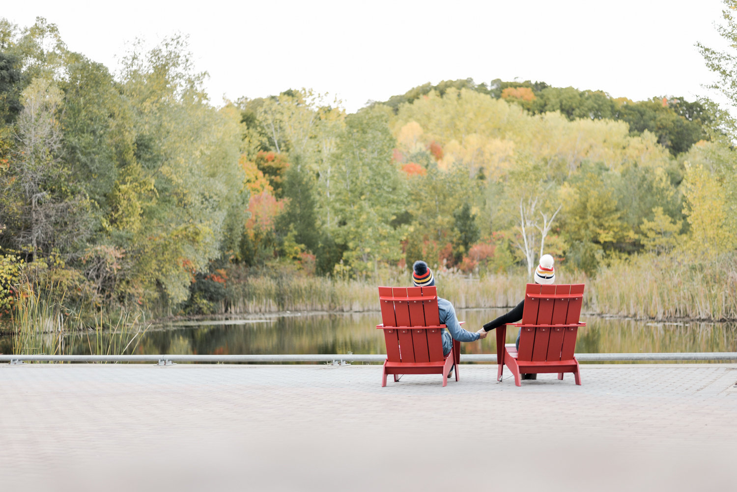 Brickworks engagement photos