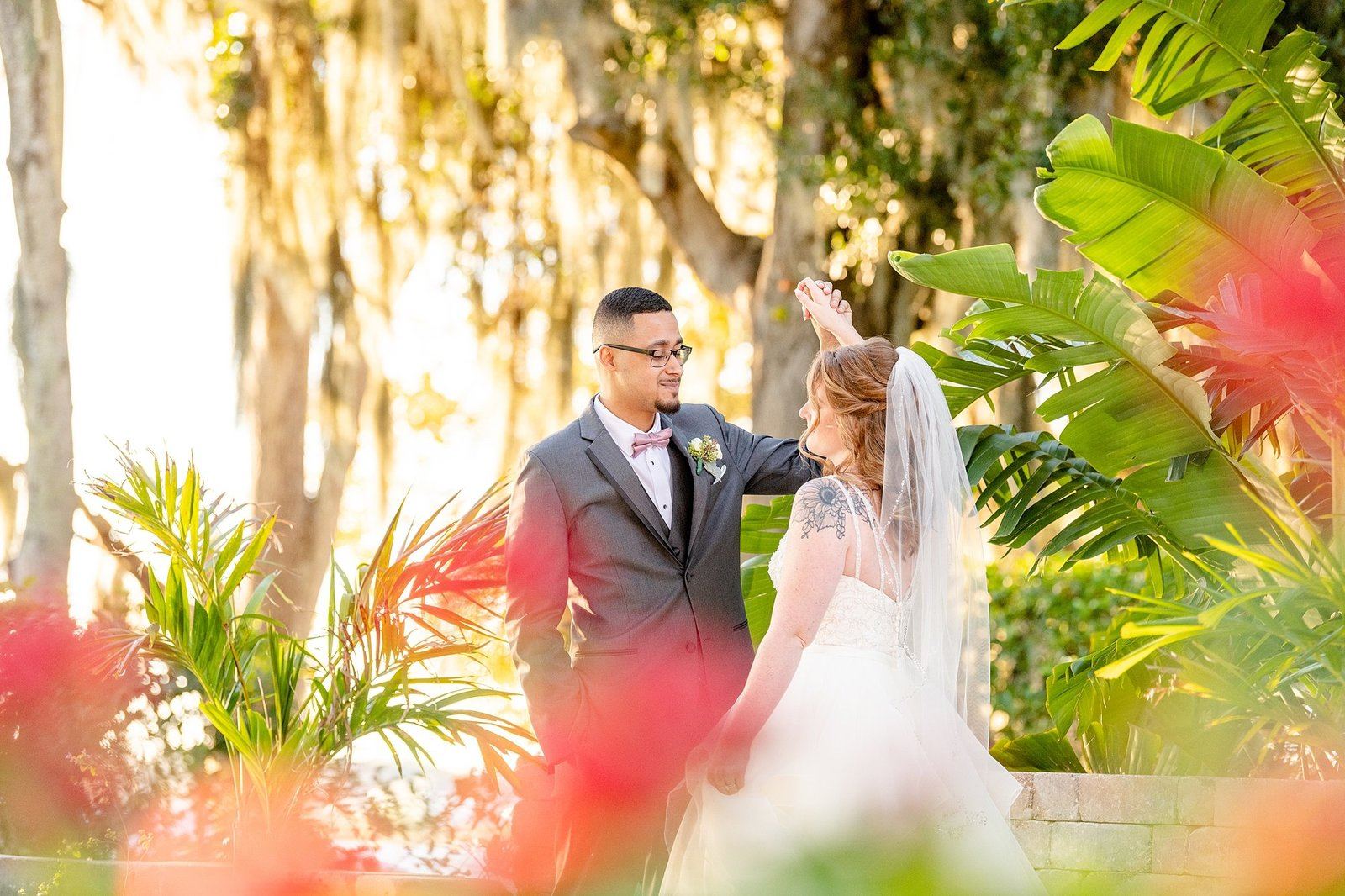 Light and Airy Wedding Photographer in Orlando