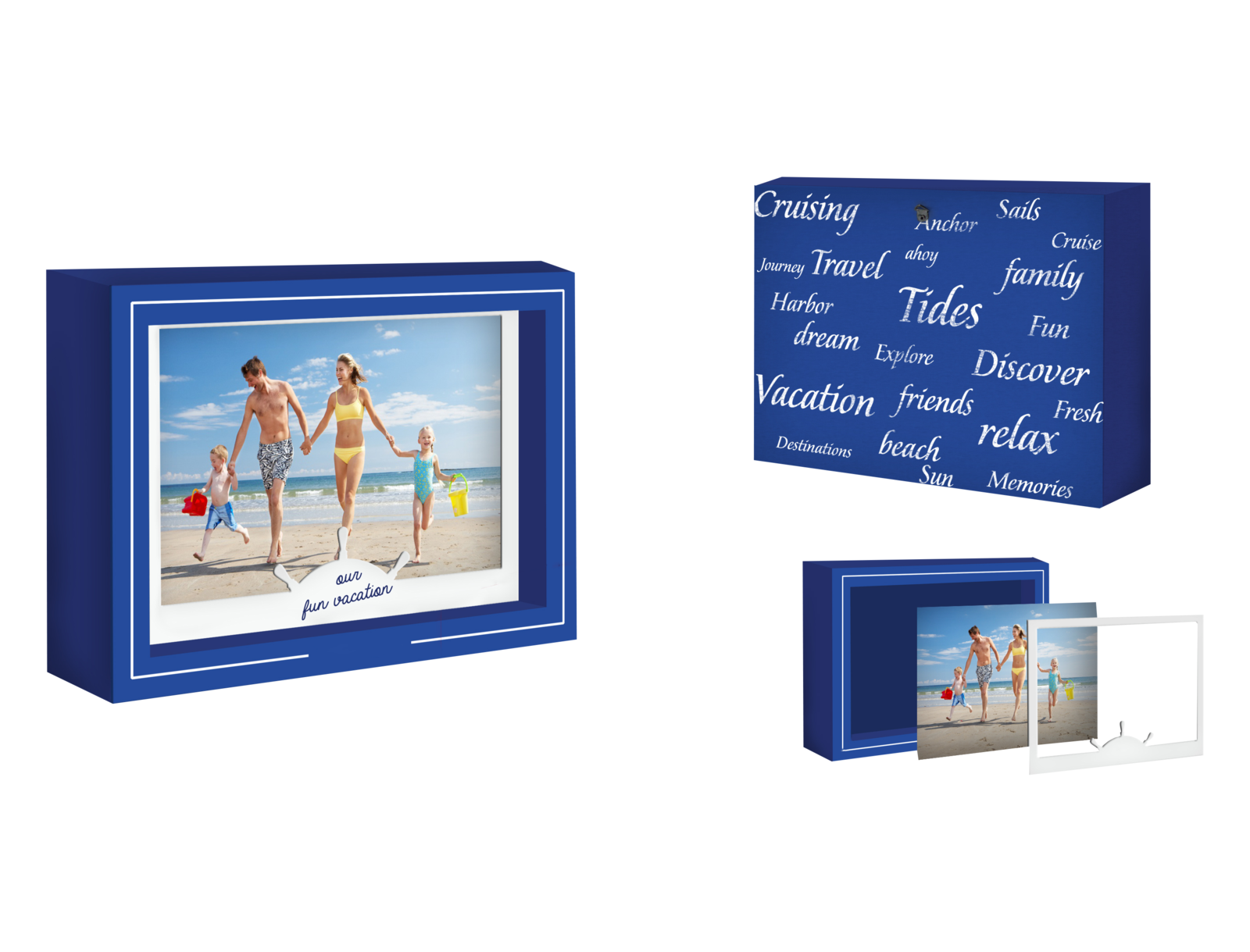 FRONT MOUNT  PICTURE FRAME-PRESENTATION