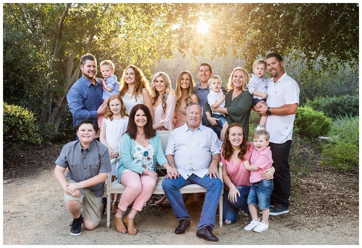 North County San Diego Extended Family Photographer