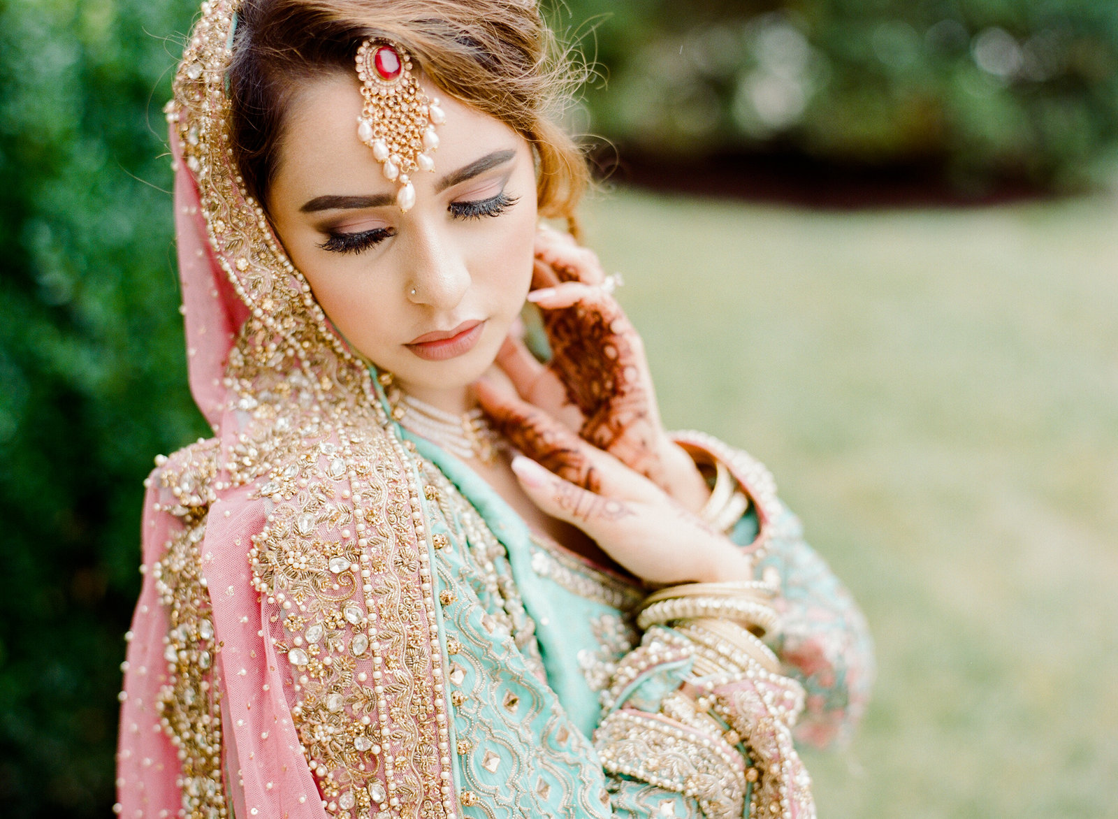 South Asian bride in Washington DC