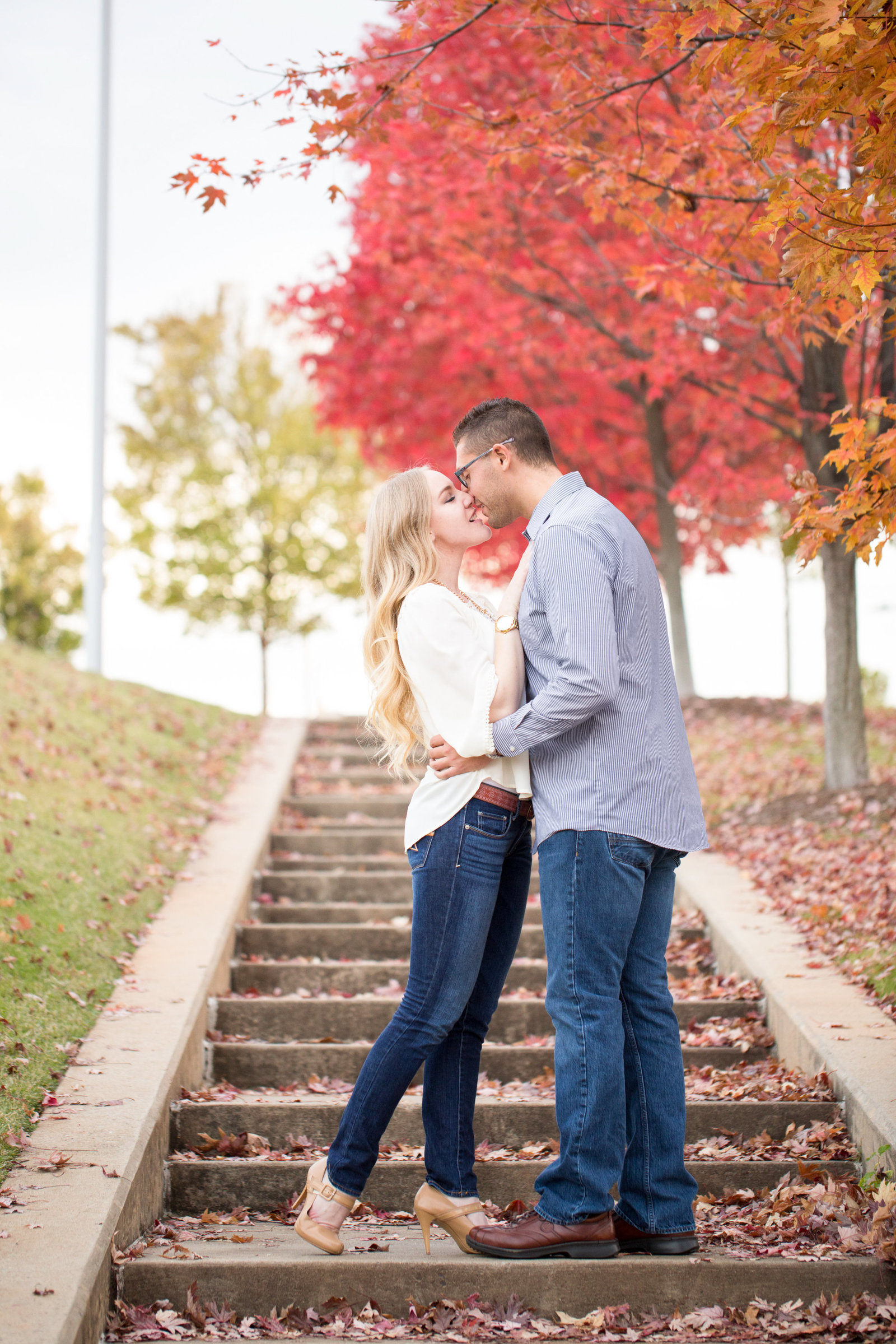 Clinton Library Engagement Photos