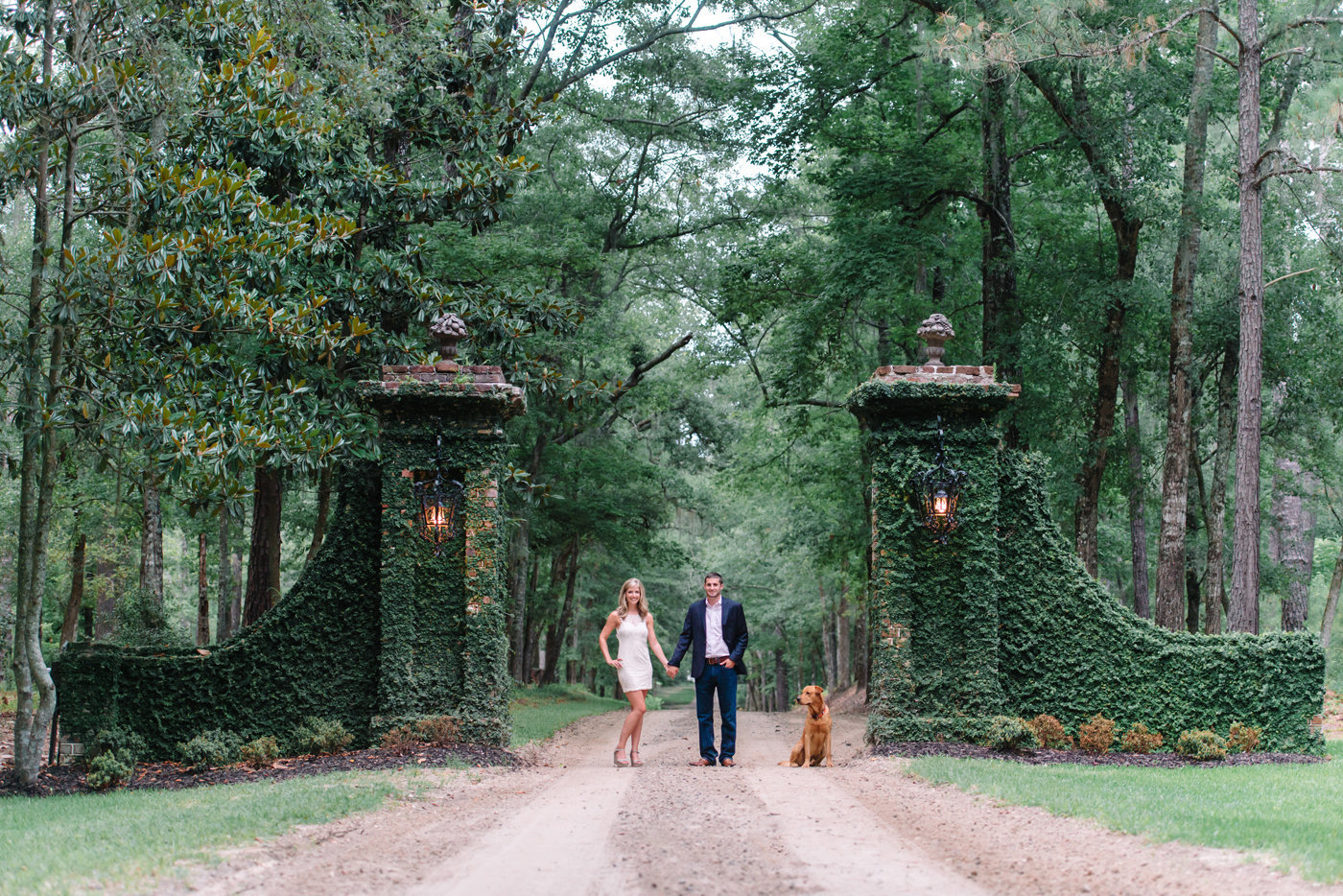 Unique Locations for engagement photography - Plantations in Georgetown, SC