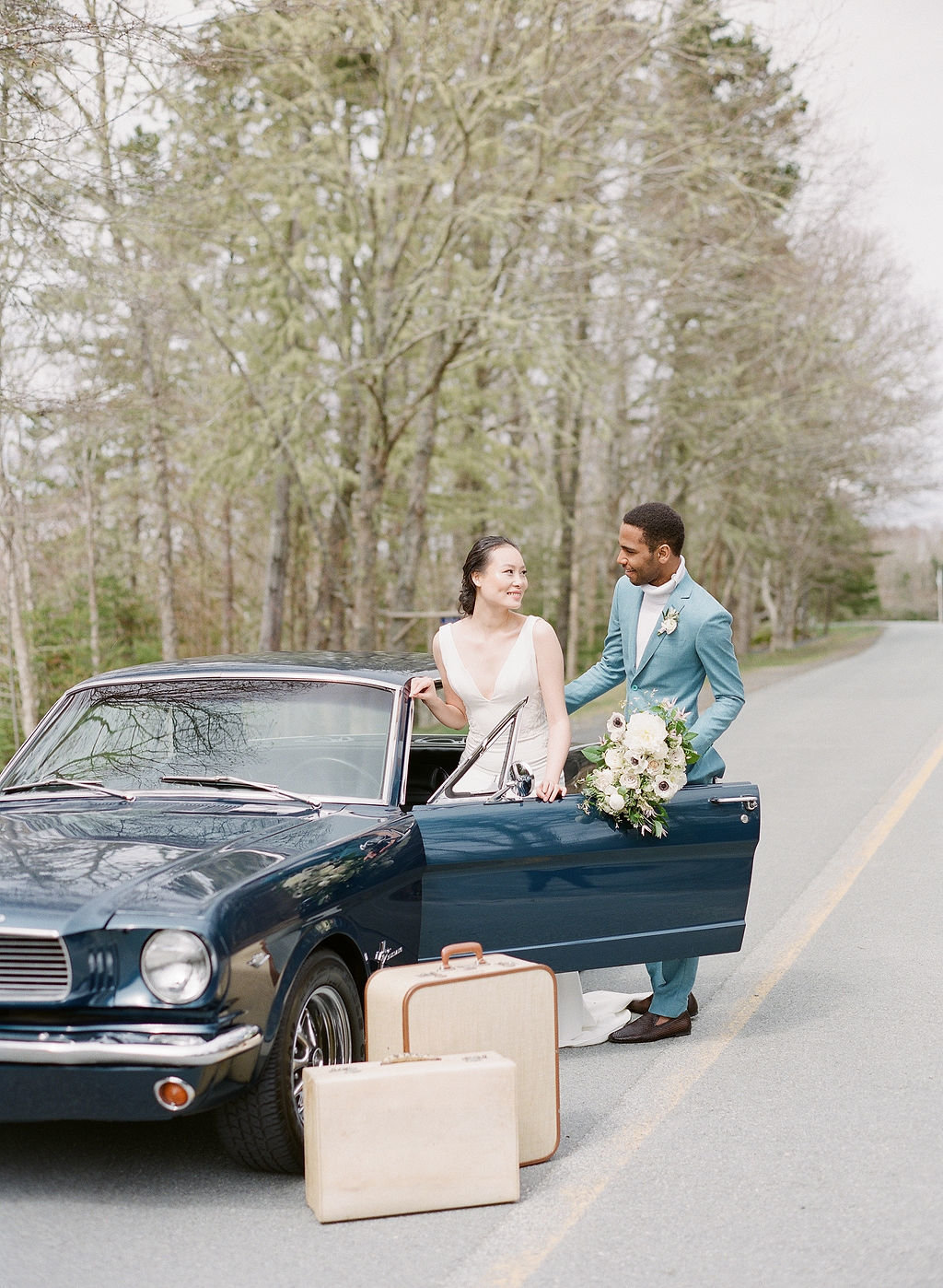 Jacqueline Anne Photography, The One Day Workshop, Halifax Wedding Photographer, Vintage Car