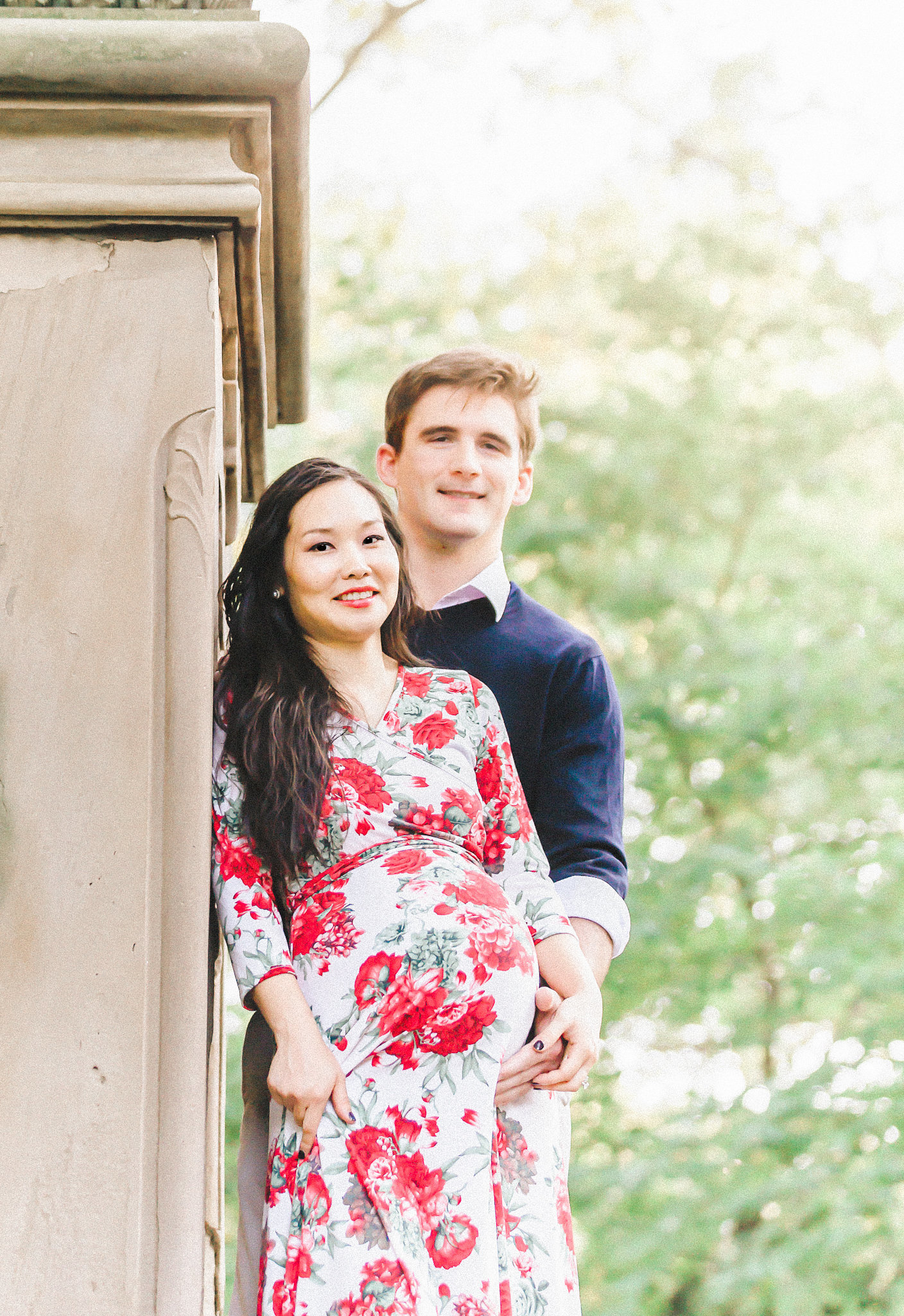 Dreamcatcher Rose Studios - Maternity - central park nyc - maternity couple