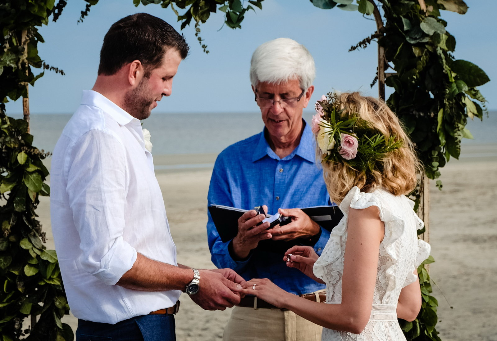 Driftwood Beach Jekyll Island Wedding, Bobbi Brinkman Photography