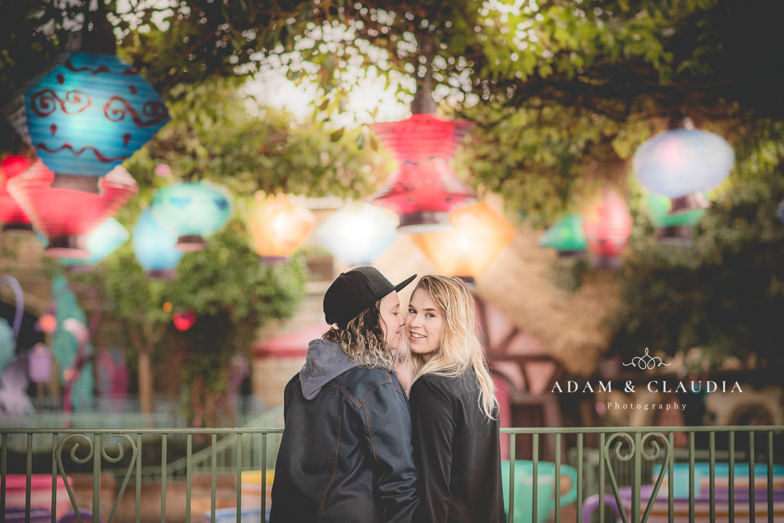 Mason Disneyland Engagement Session 5