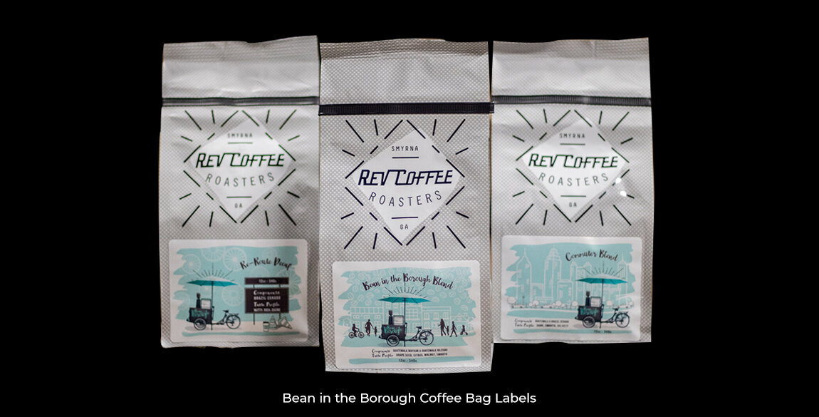Bean in the Borough Labels